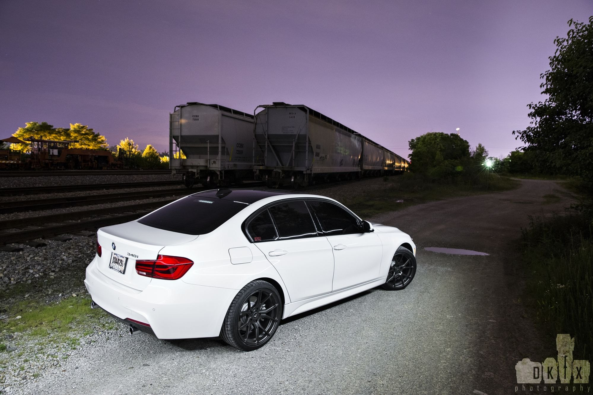 Amazing Contrast Matte Black Wheels On White Bmw 3 Series Carid Com Gallery