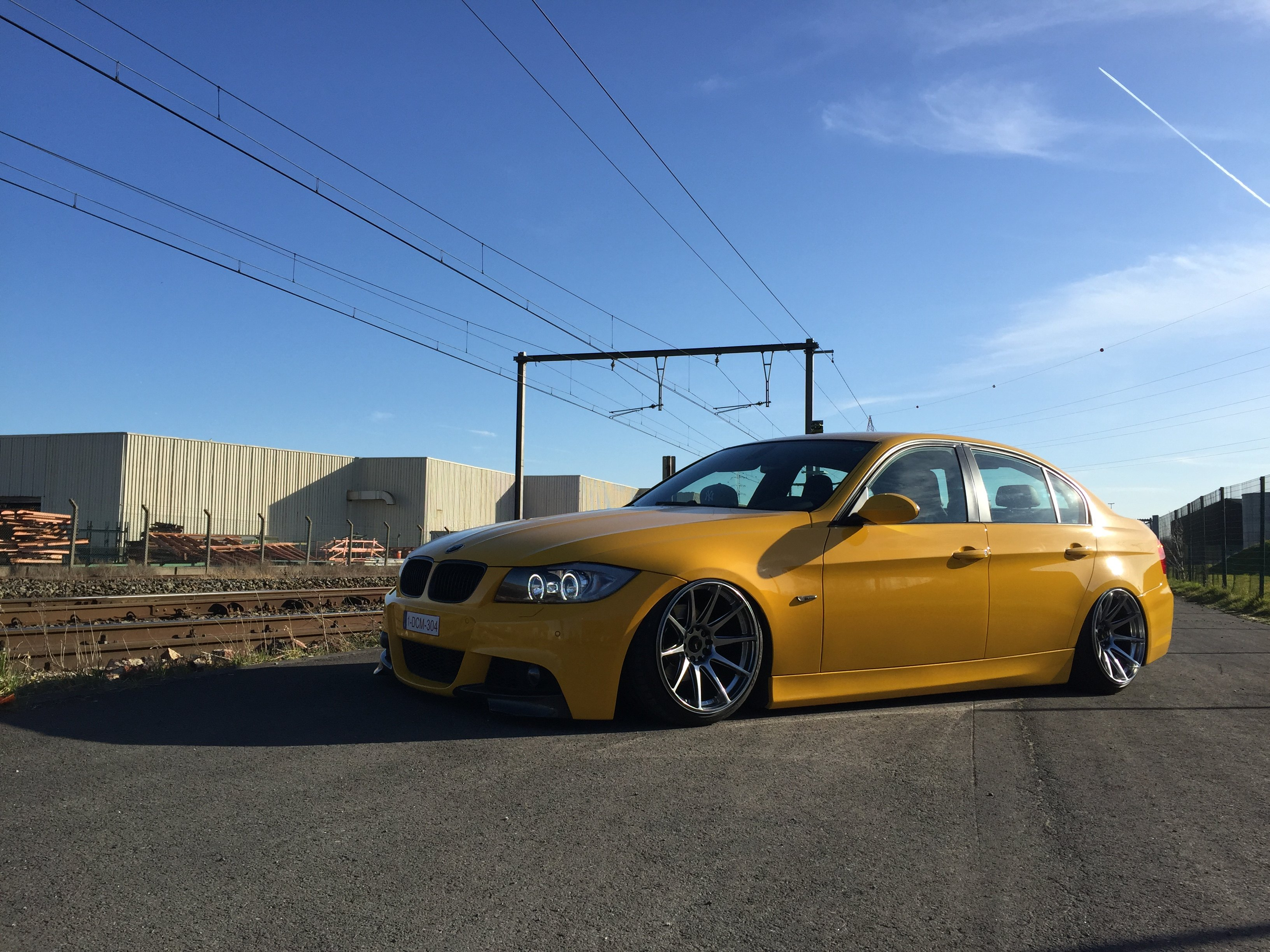 Yellow Bmw 3 Series Customized In Jdm Style Carid Com Gallery