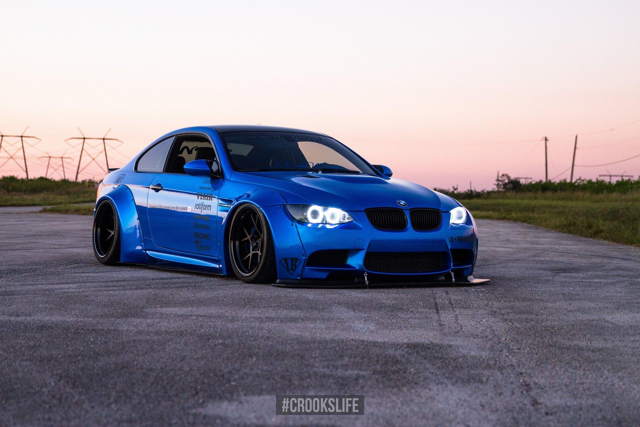Royal Blue Stanced BMW Series CARiDcom Gallery - Blue bmw 3 series