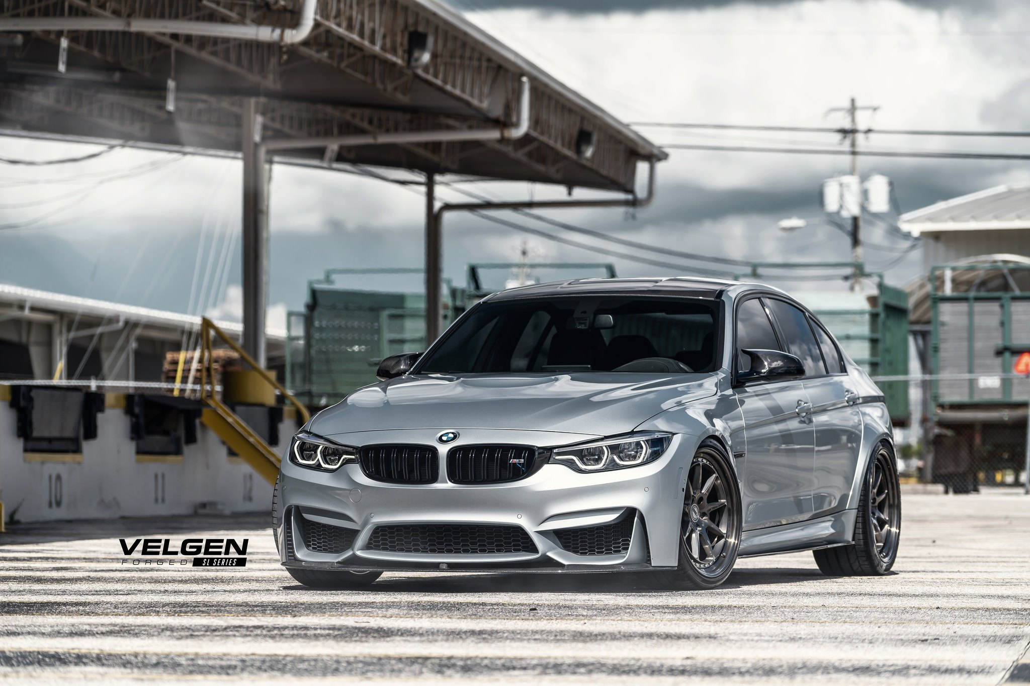 Bmw M3 Looks Elegant On Velgen Wheels Caridcom Gallery