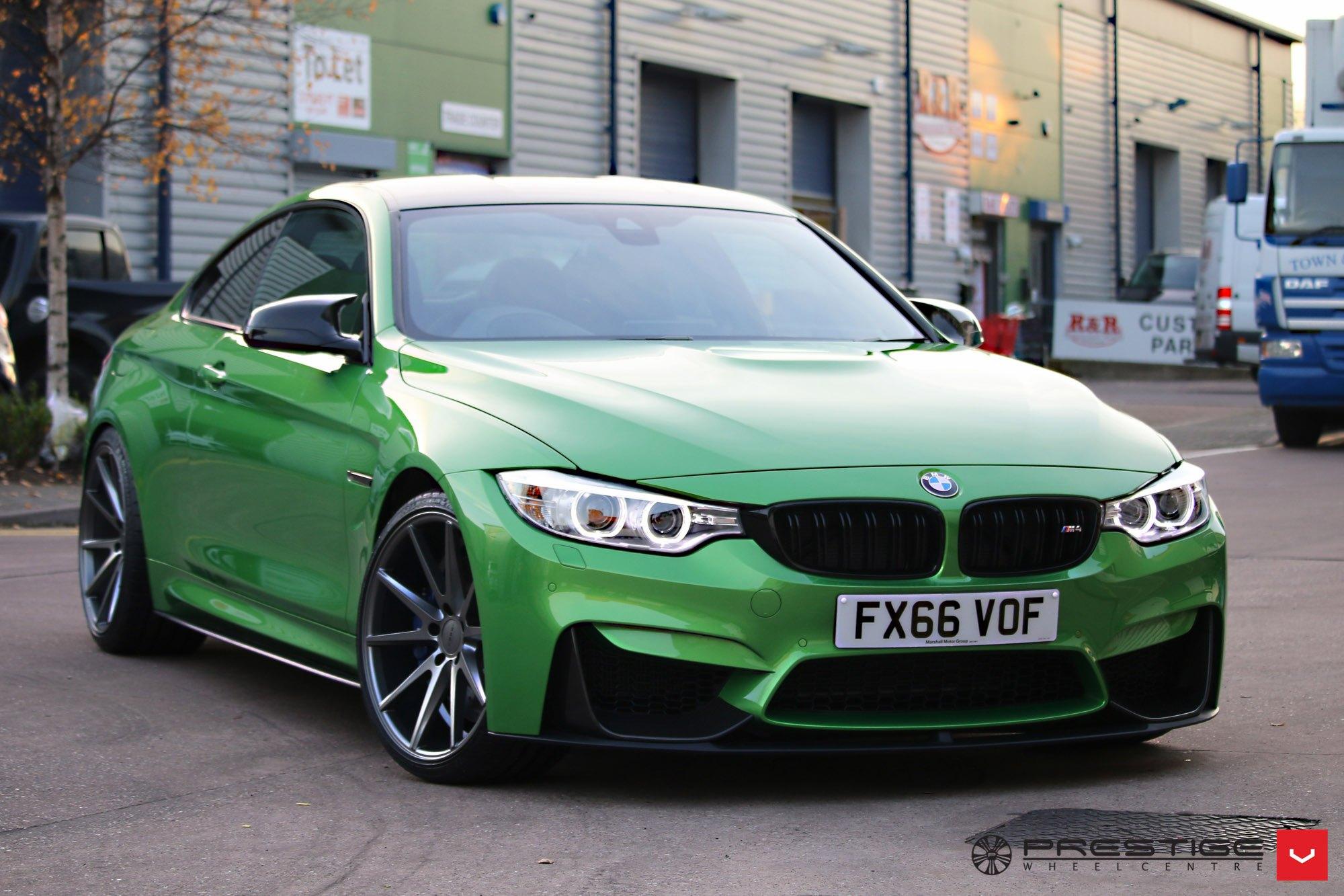 Enriched Custom Green BMW Series To Please The Eye CARiDcom - Bmw 4 by 4