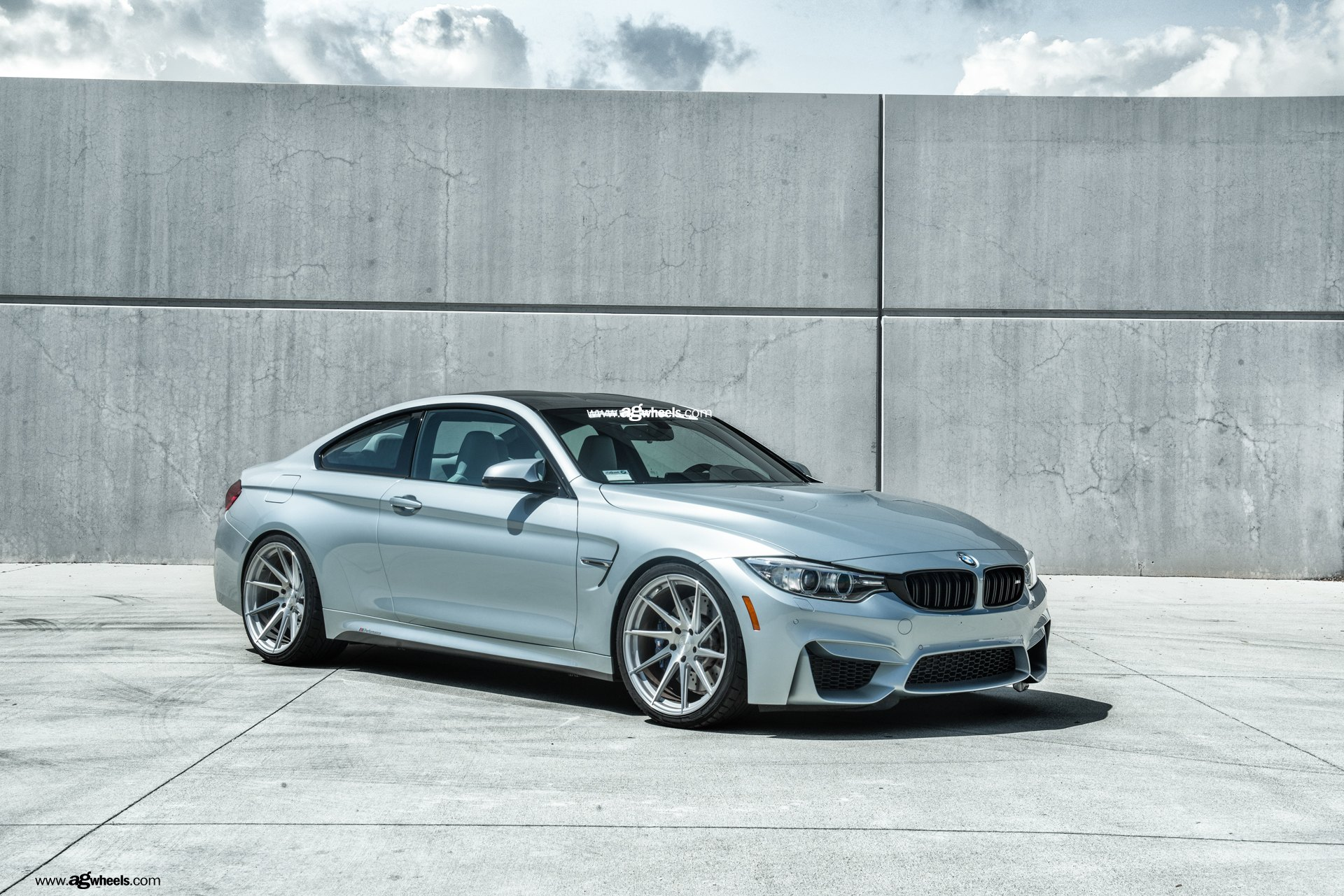 Deep Concave Rims By Avant Garde On Silver M4 Coupe