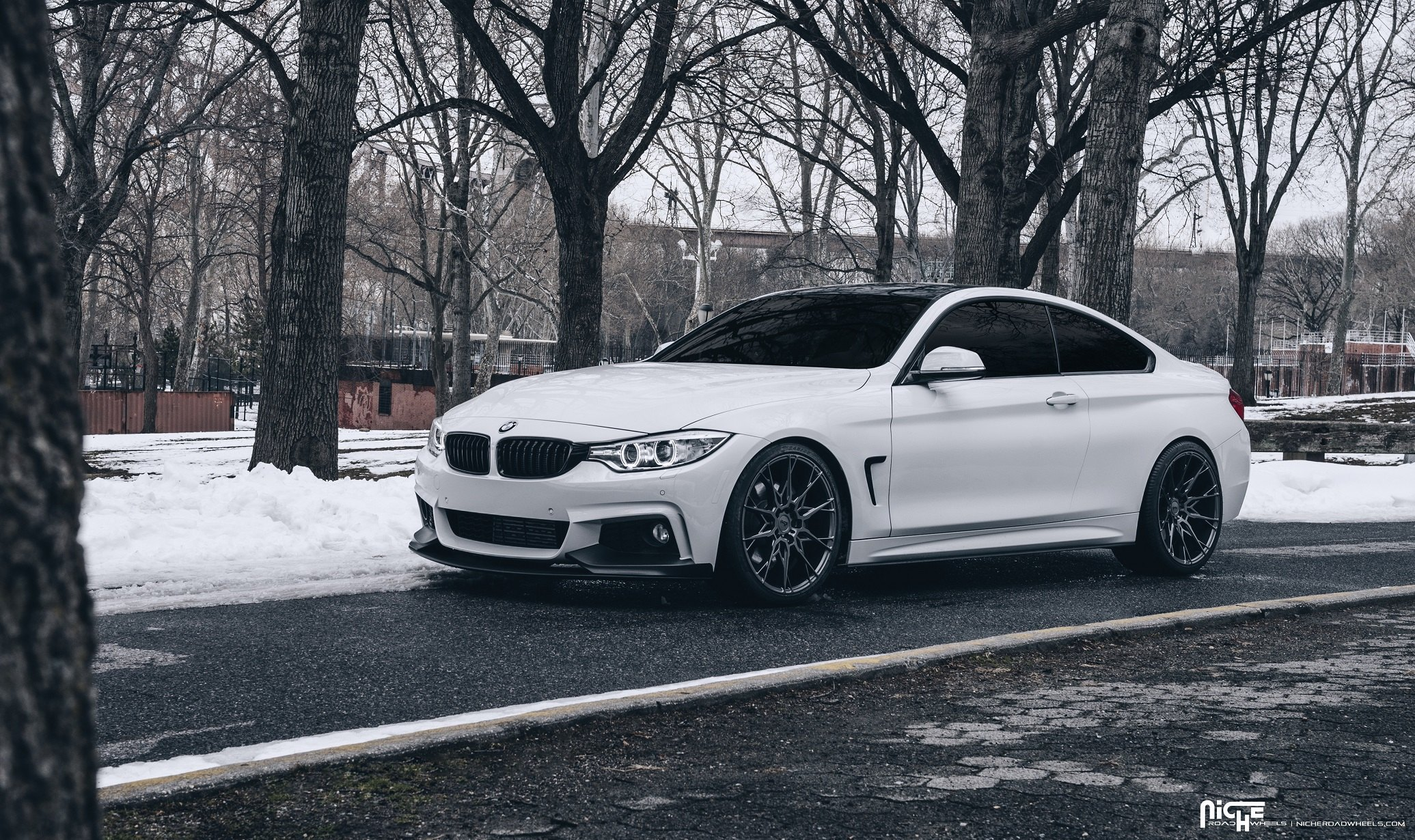 Bmw Rims Style >> Freezing White BMW M4 Coupe Fitted With Niche Custom Wheels — CARiD.com Gallery