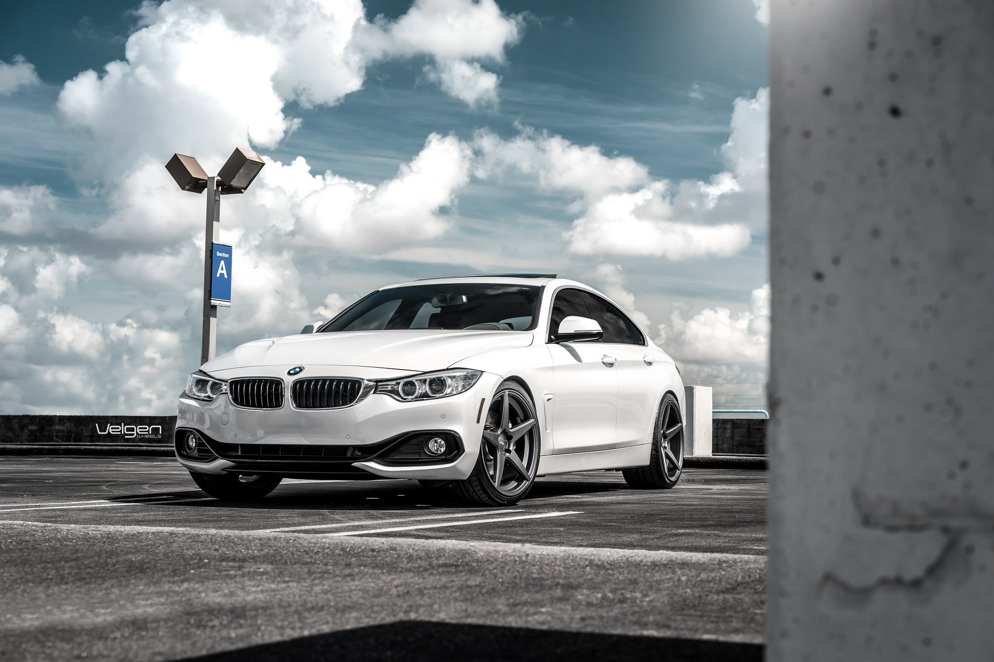 Gorgeous Bmw 4 Series Gran Coupe Equipped With Charcoal Custom Wheels Carid Com Gallery