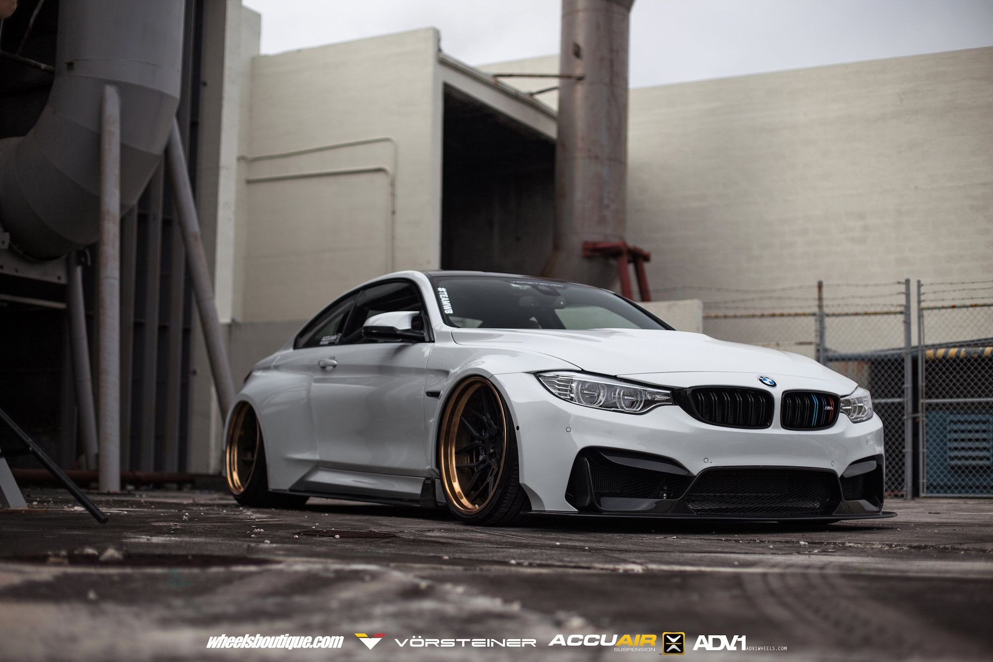 Heavily Modified BMW M4 Coupe Slammed To the Ground ...