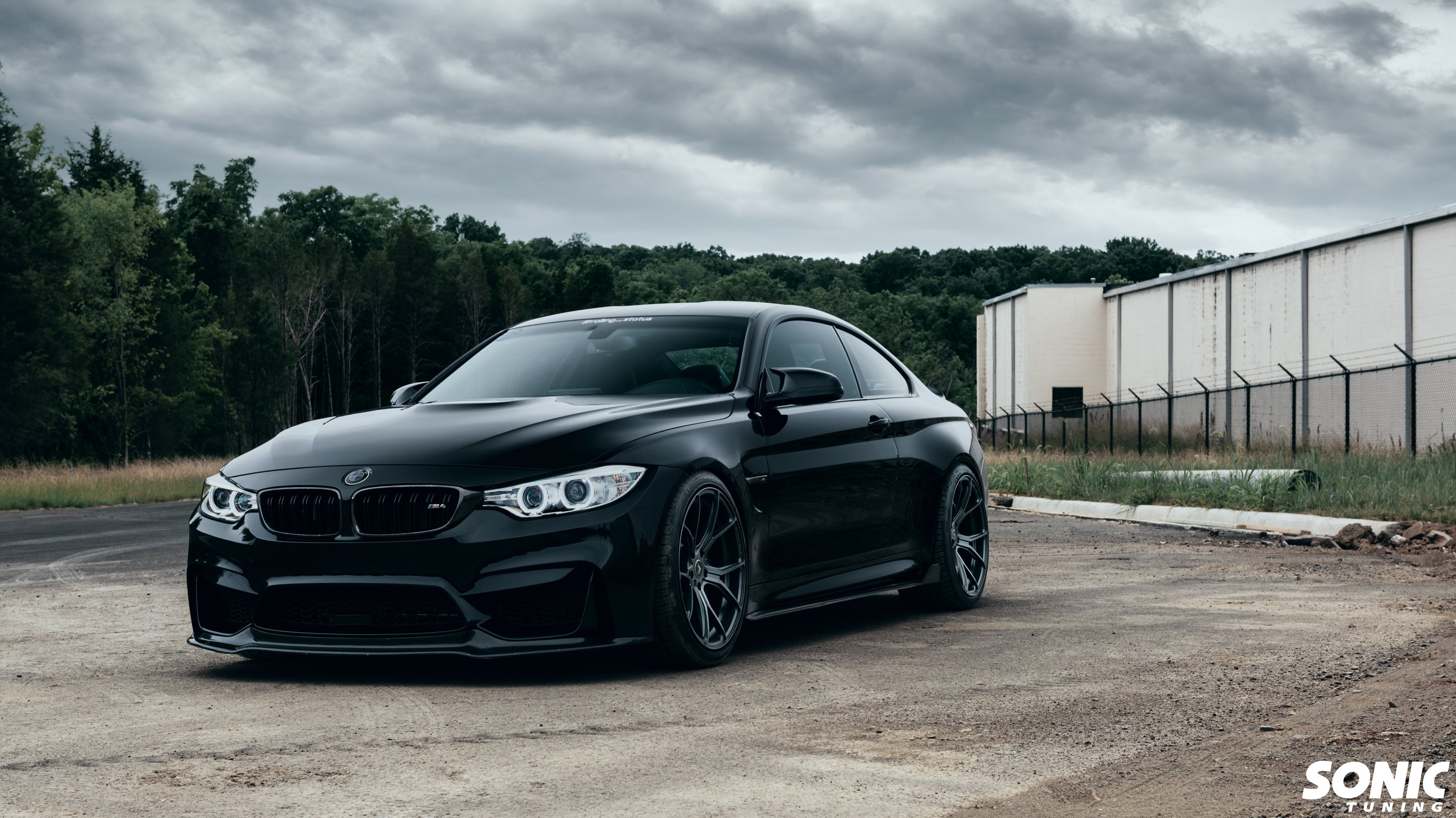 Matte Black Bmw >> Ravishing Yet Sinister Black Bmw 4 Series Shod In Matte Black Custom