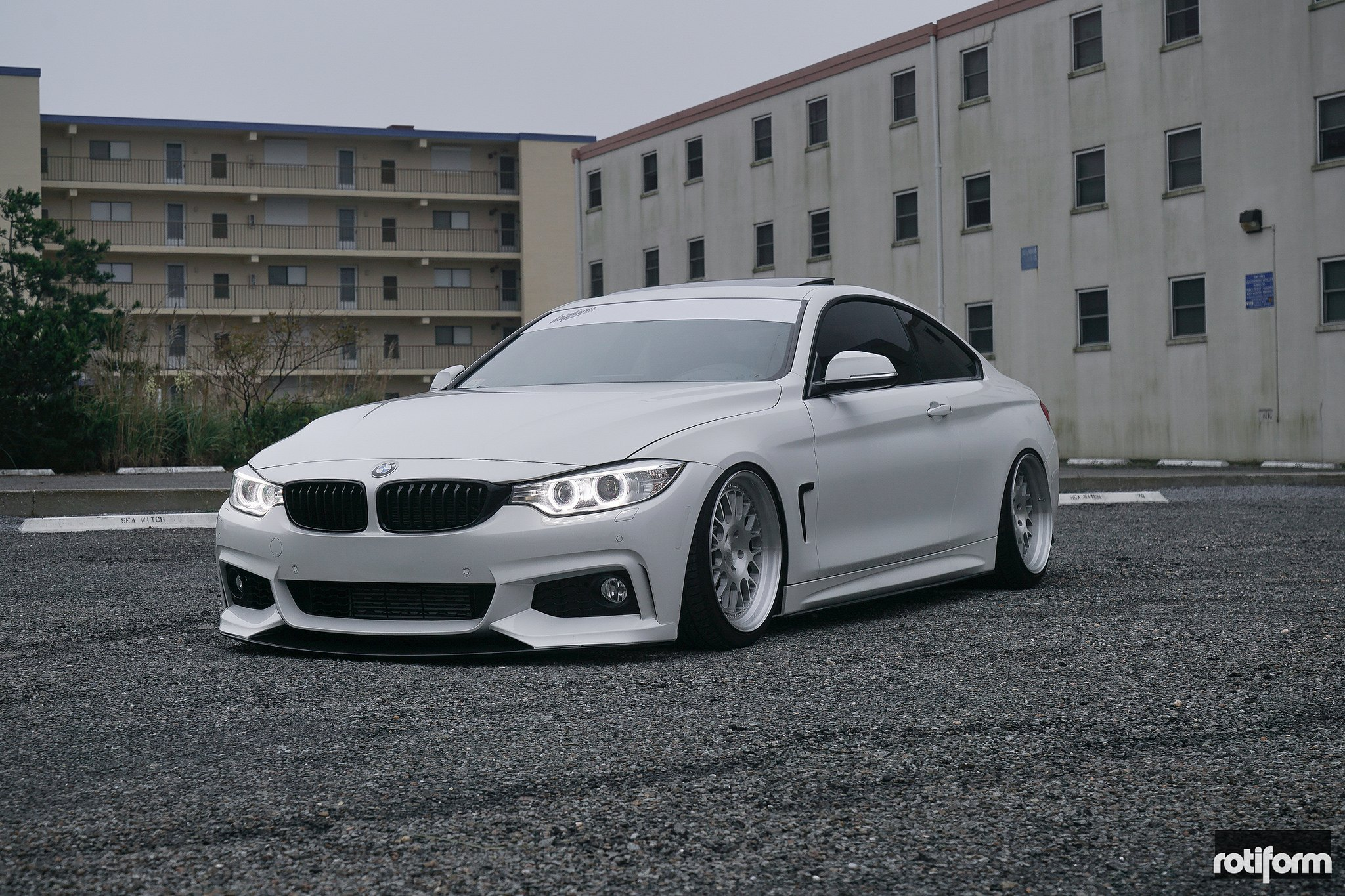 Stanced BMW M4 Coupe at H2Oi — CARiD Gallery