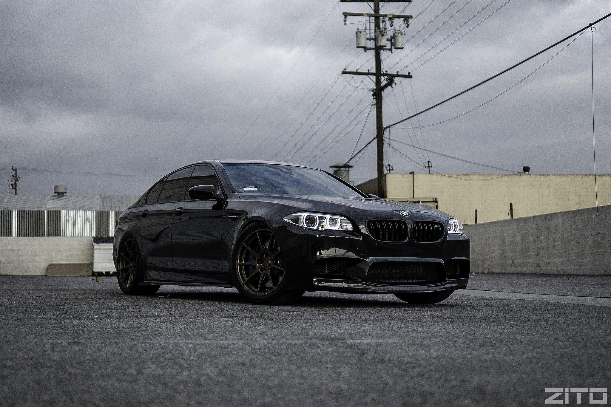 Black On Black Bmw 5 Series Gets Carbon Fiber Carid Com
