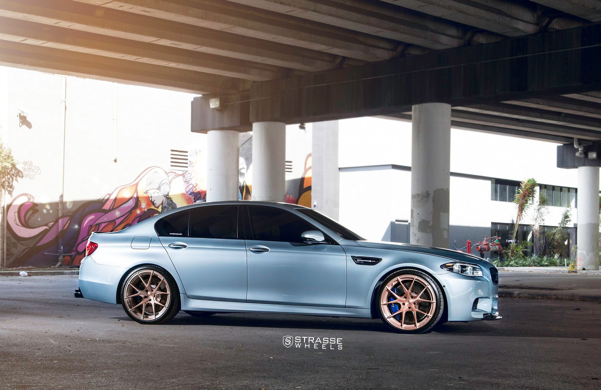 Custom Gray Bmw 5 Series Side Skirts Photo By Stre Wheels