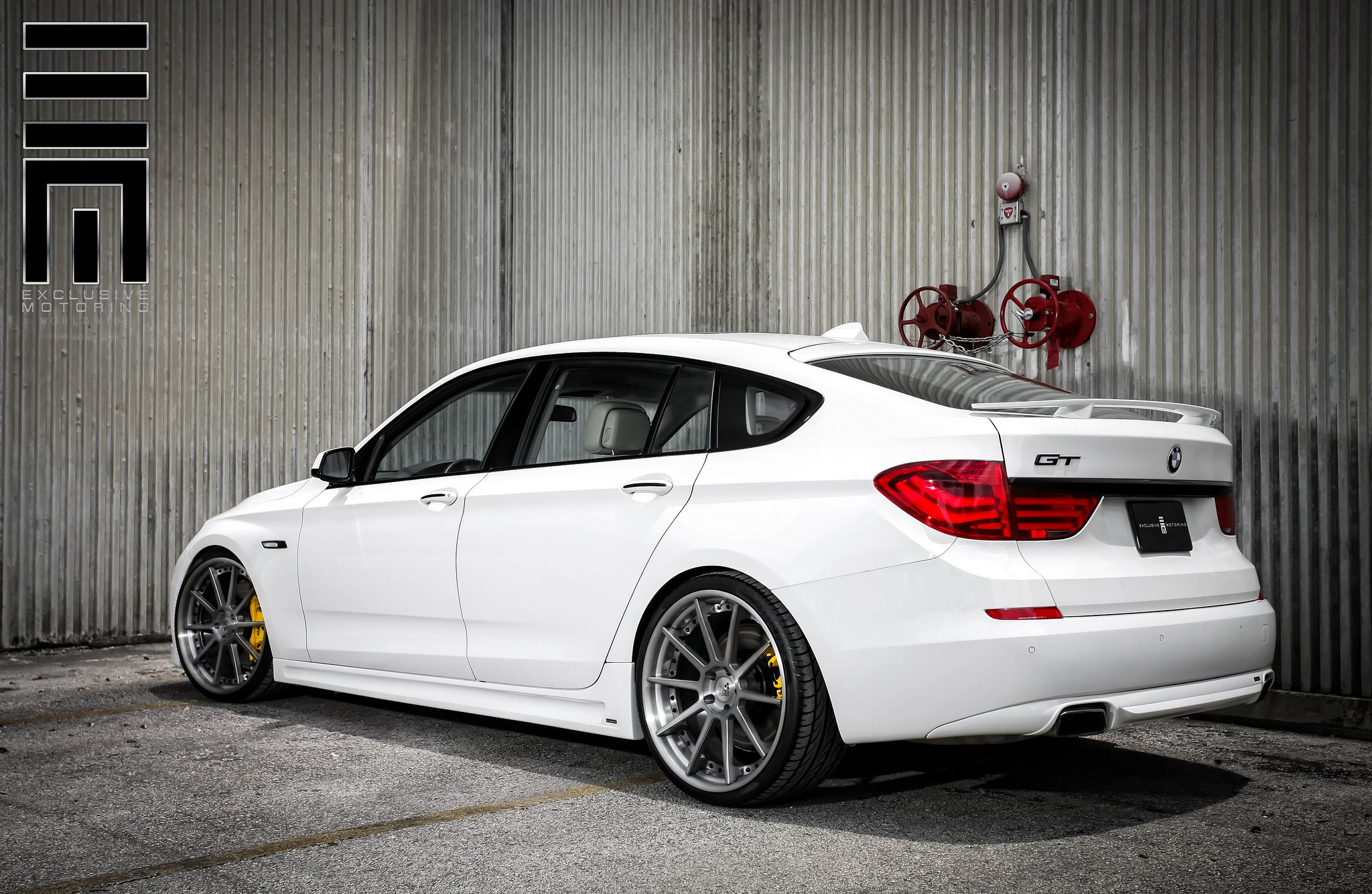 bmw 550 grand touring with some nice stance by exclusive motoring gallery. Black Bedroom Furniture Sets. Home Design Ideas