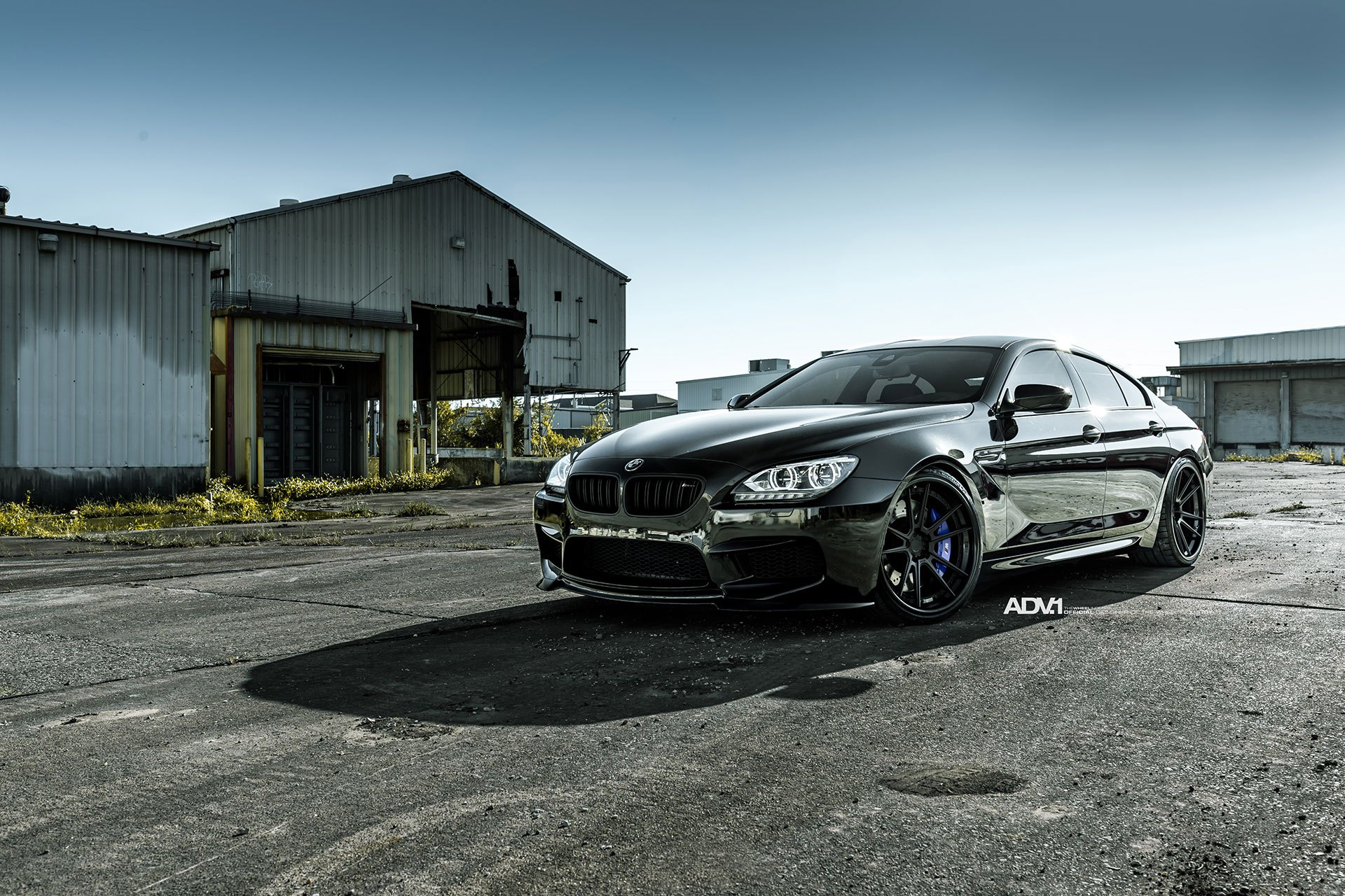 Sinister Looks Of Bmw M6 Gran Coupe With Purple Brakes And Black Rims Carid Com Gallery