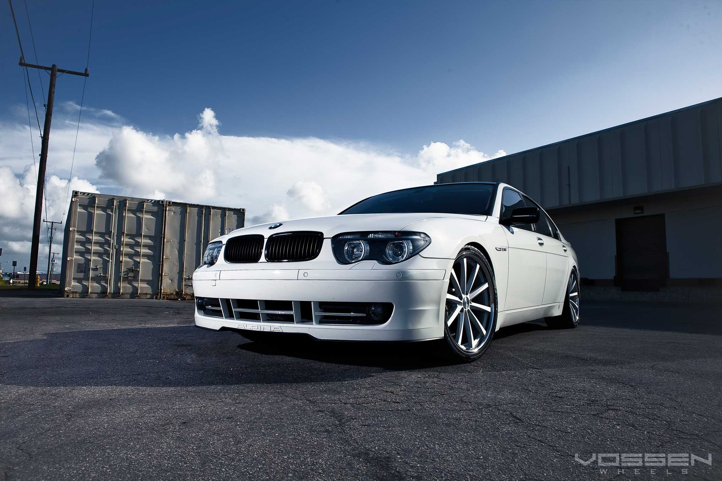 Neat Tuning Kit For White Bmw 7 Series Carid Com Gallery