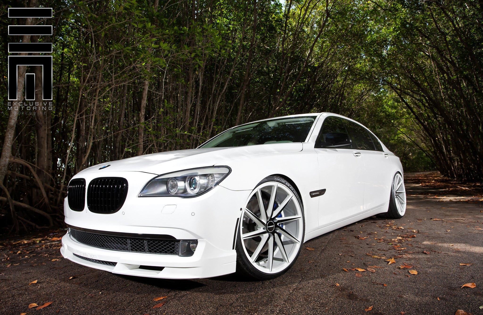BMW 7 Series Alpina On Custom Wheels
