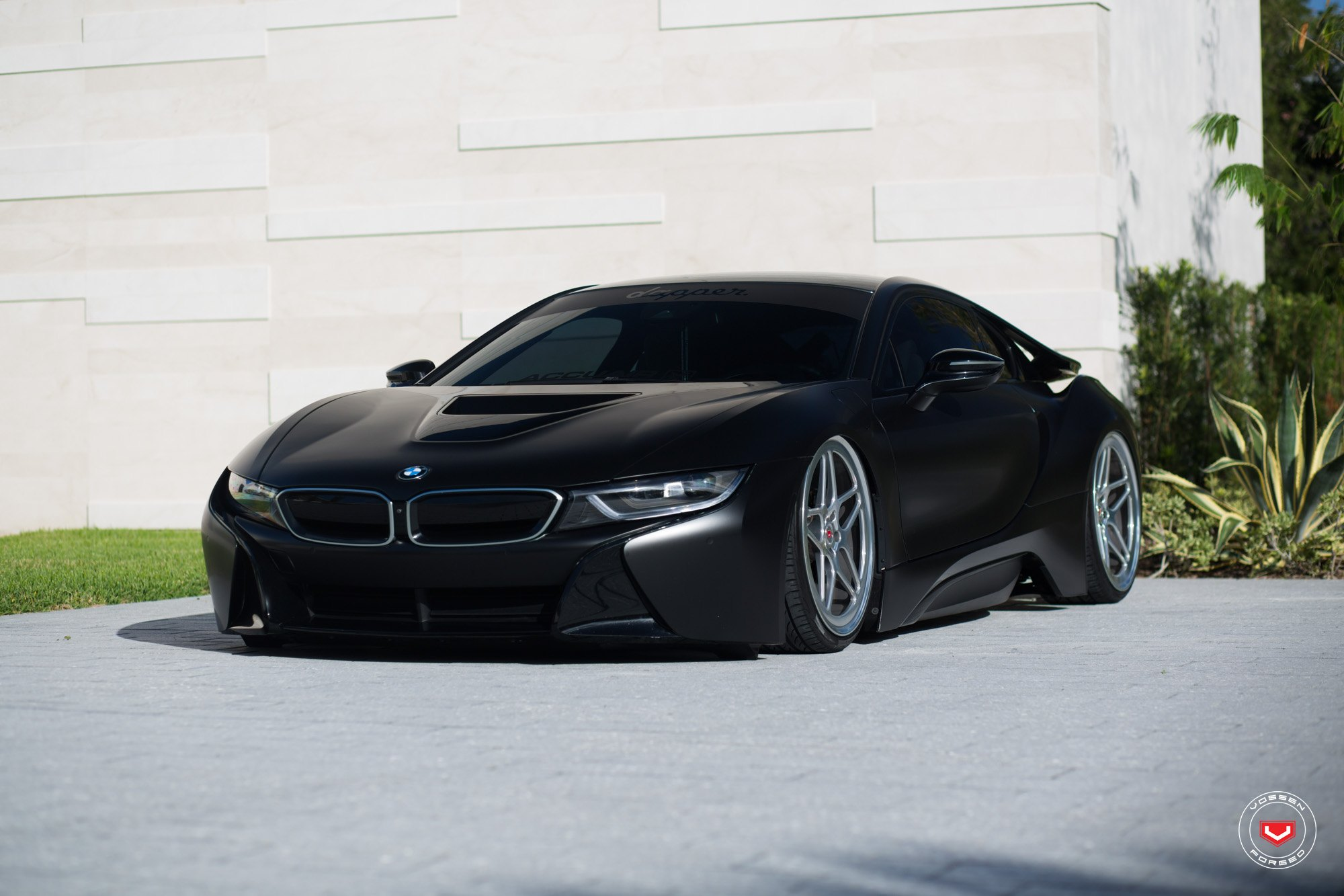 Hybrid Shark Bmw I8 On Vossen Lc101 Custom Rims Carid Com Gallery