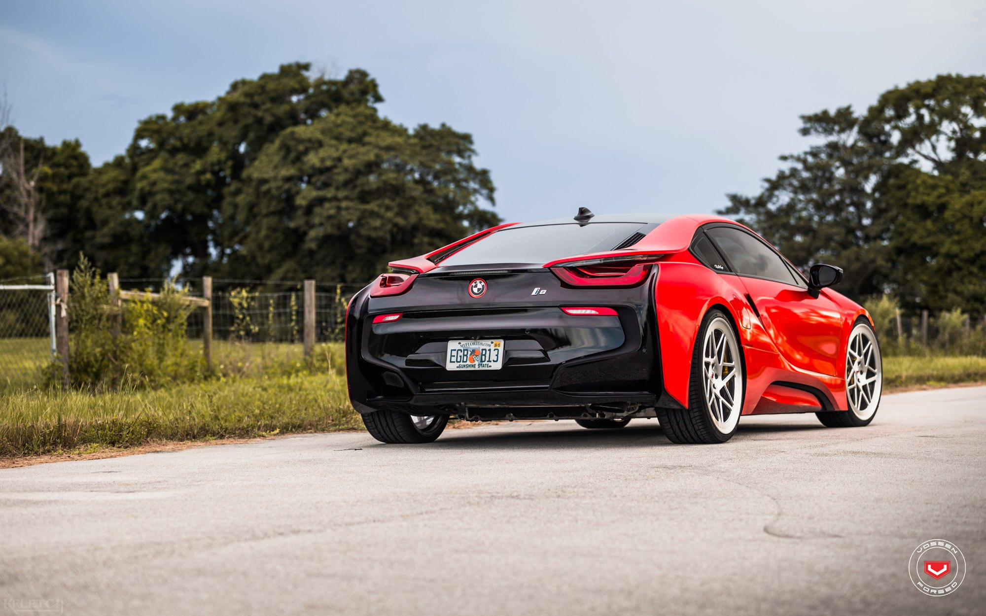 Epic Tuning That Includes Body Kit For Red Bmw I8 Carid Com Gallery