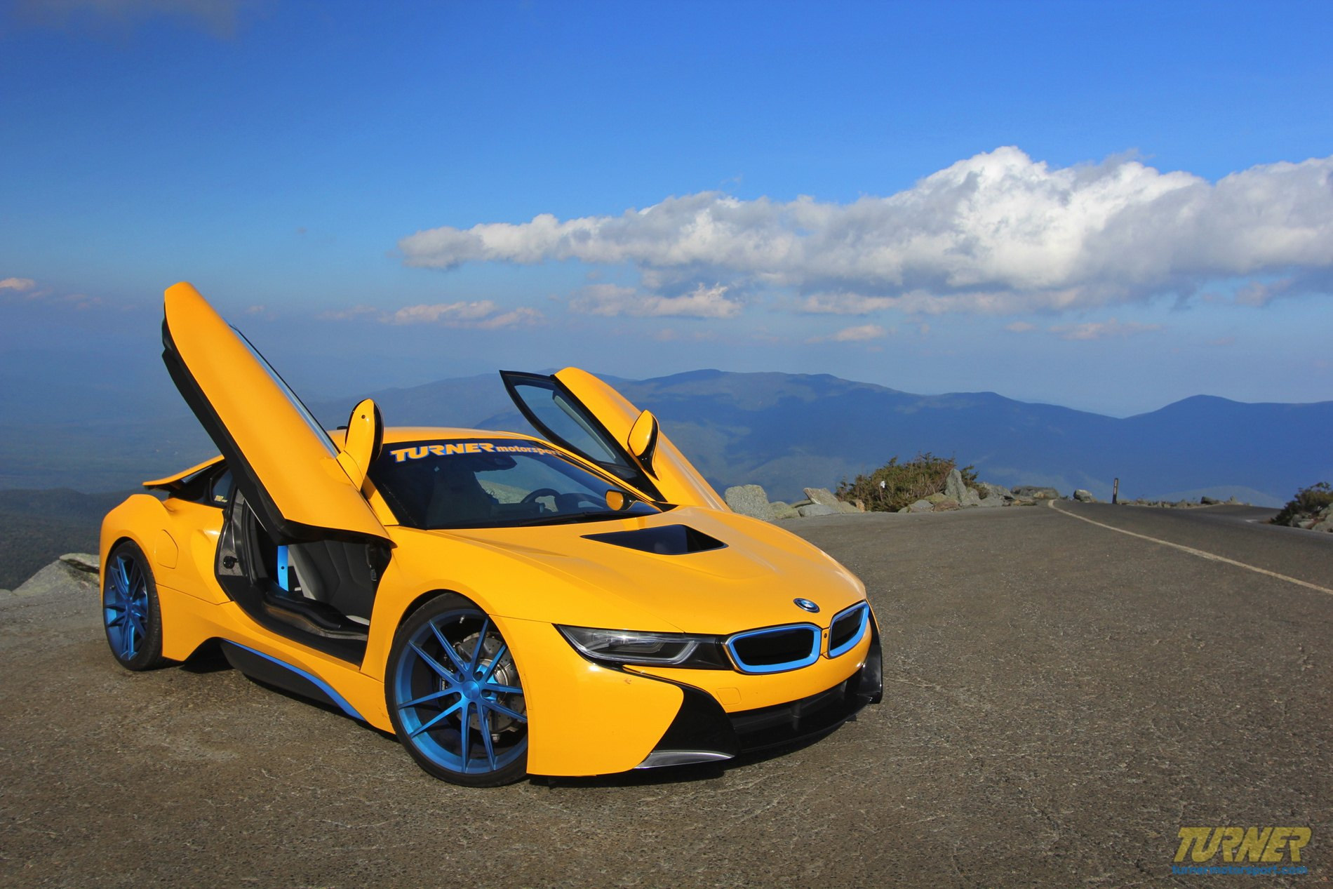 Supercars Don T Come More Exotic Yellow Bmw I8 With Custom Body Kit