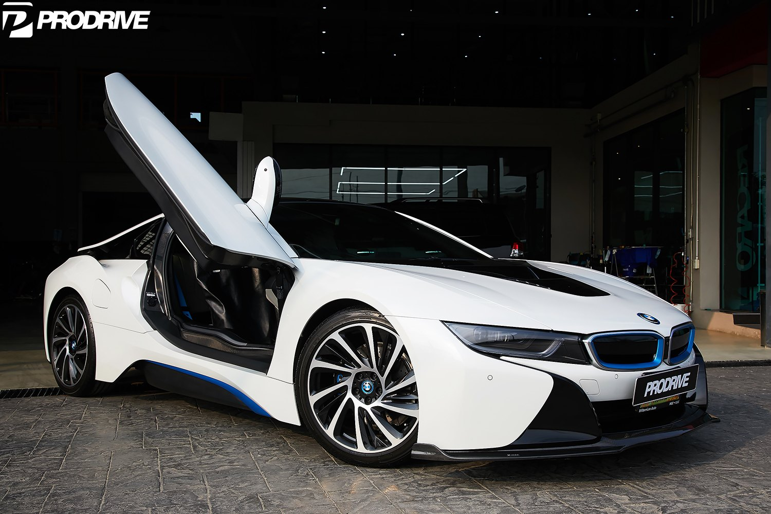 Prodrive Puts Its Hands On Magnetic White Bmw I8 Carid Com Gallery
