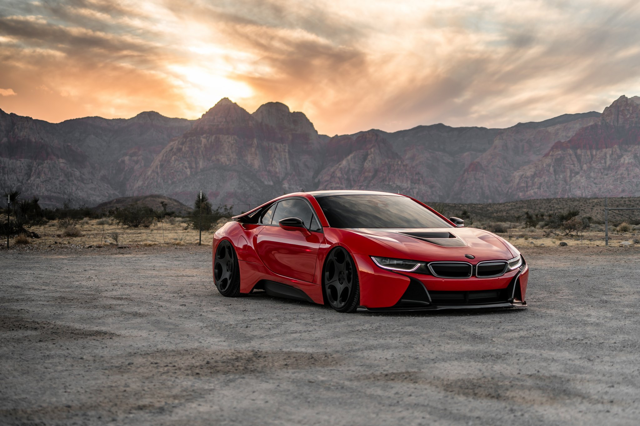 Unique Custom Solution For Red Bmw I8 Carid Com Gallery