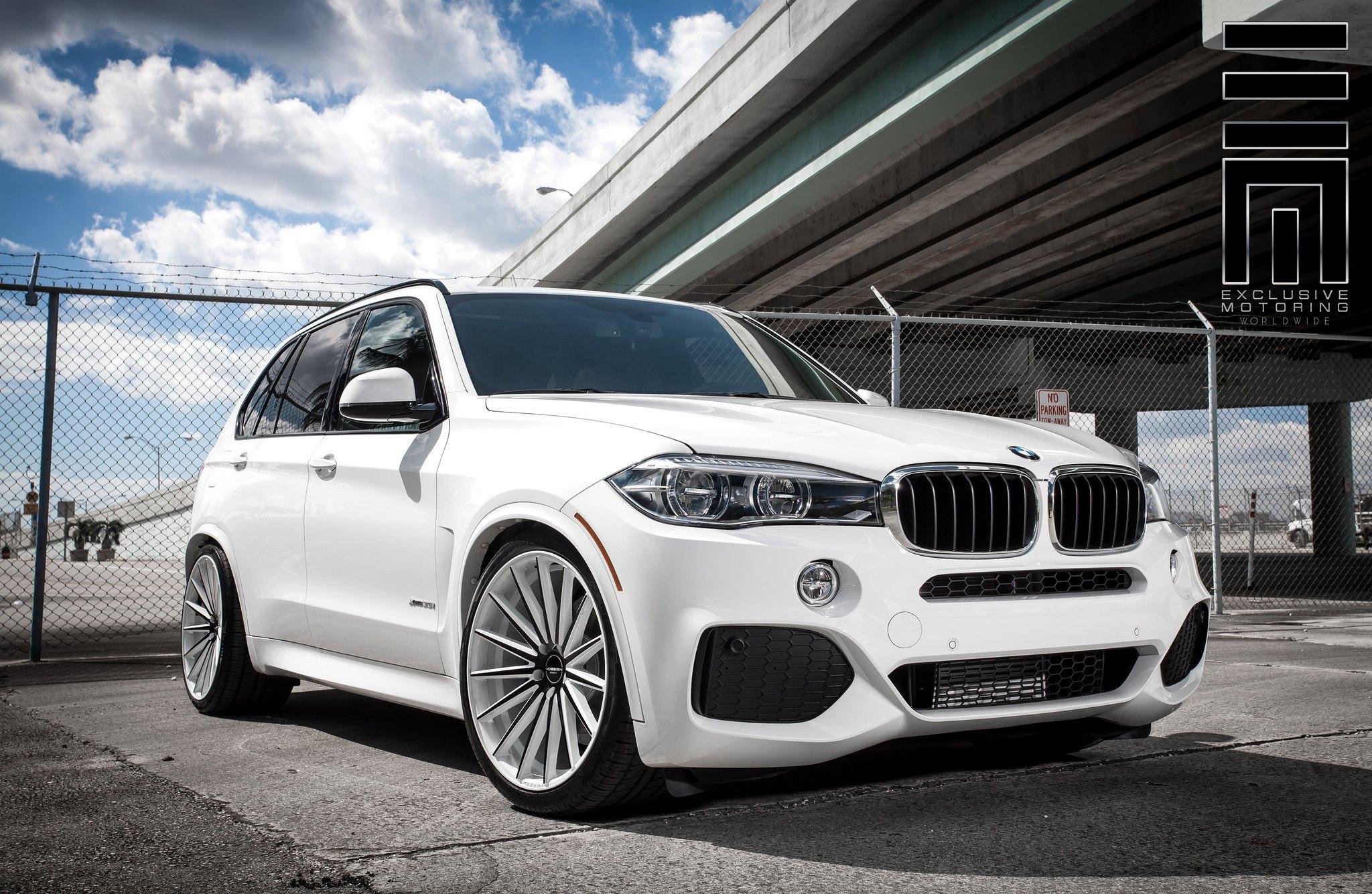 BMW X5 Stanced On Classy Custom Wheels
