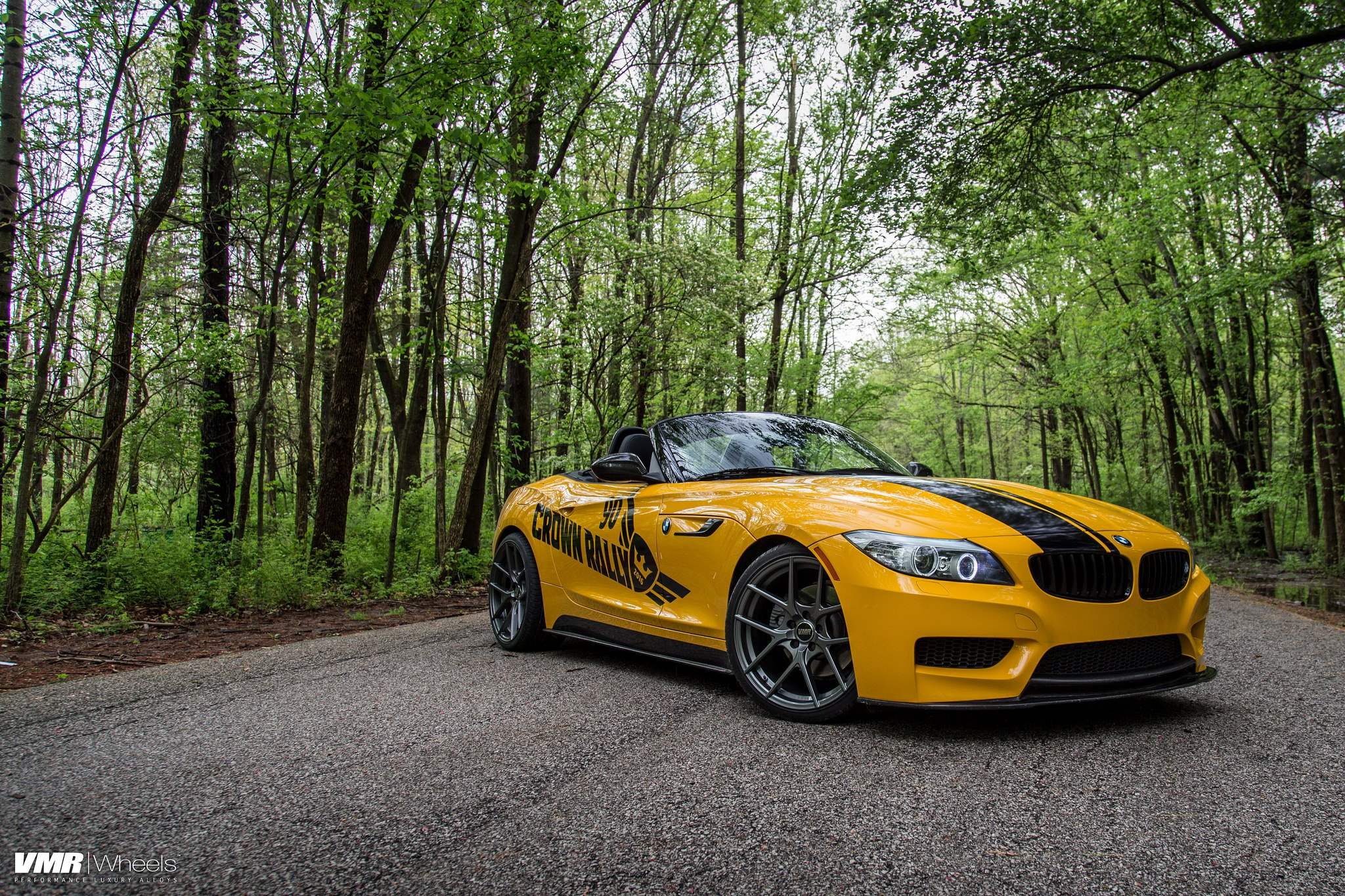 Yellow Bmw Z4 Received A Number Of Cosmetic Touches Carid Com Gallery