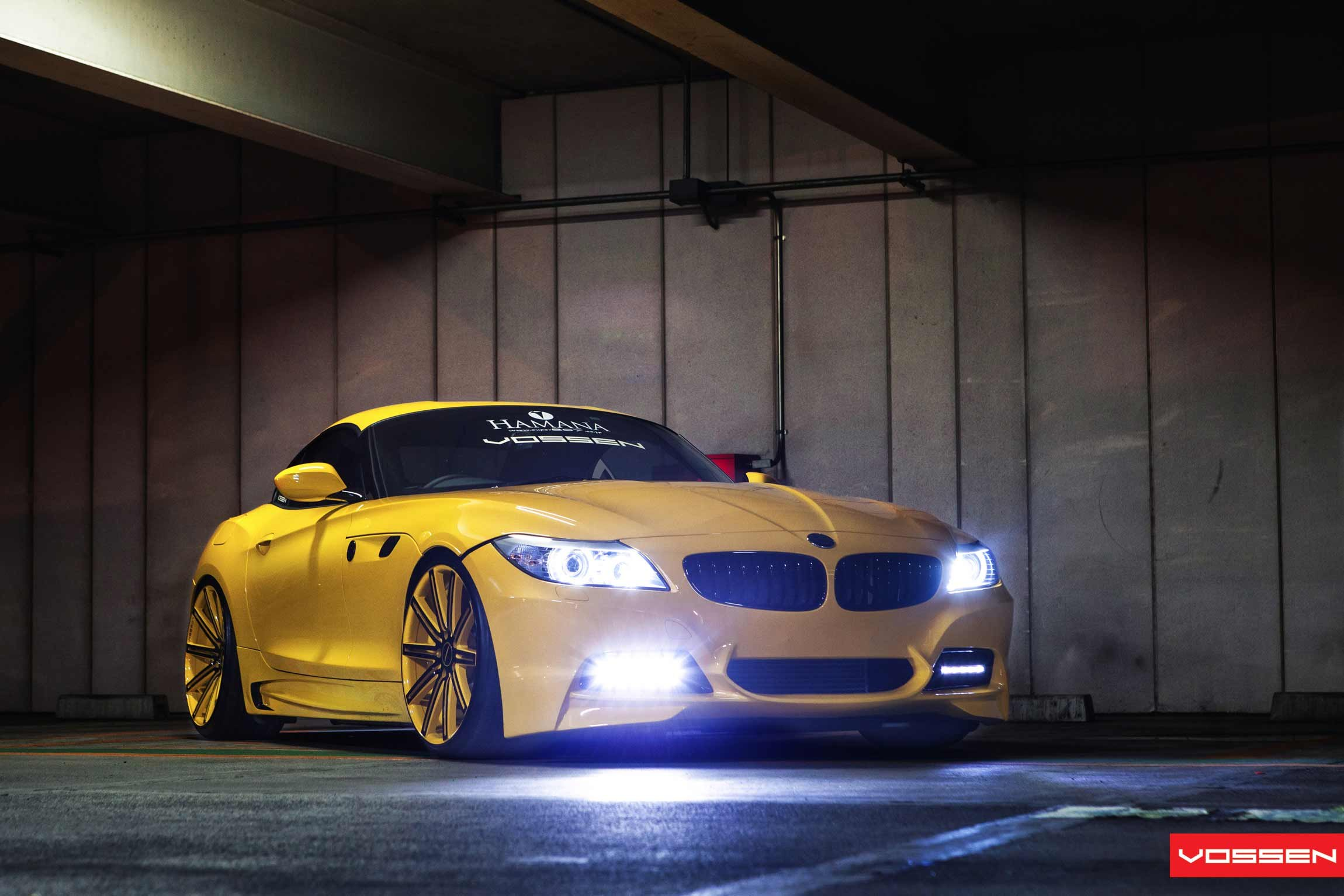 Yellow Is The New Black Heavily Customized Bmw Z4 Carid