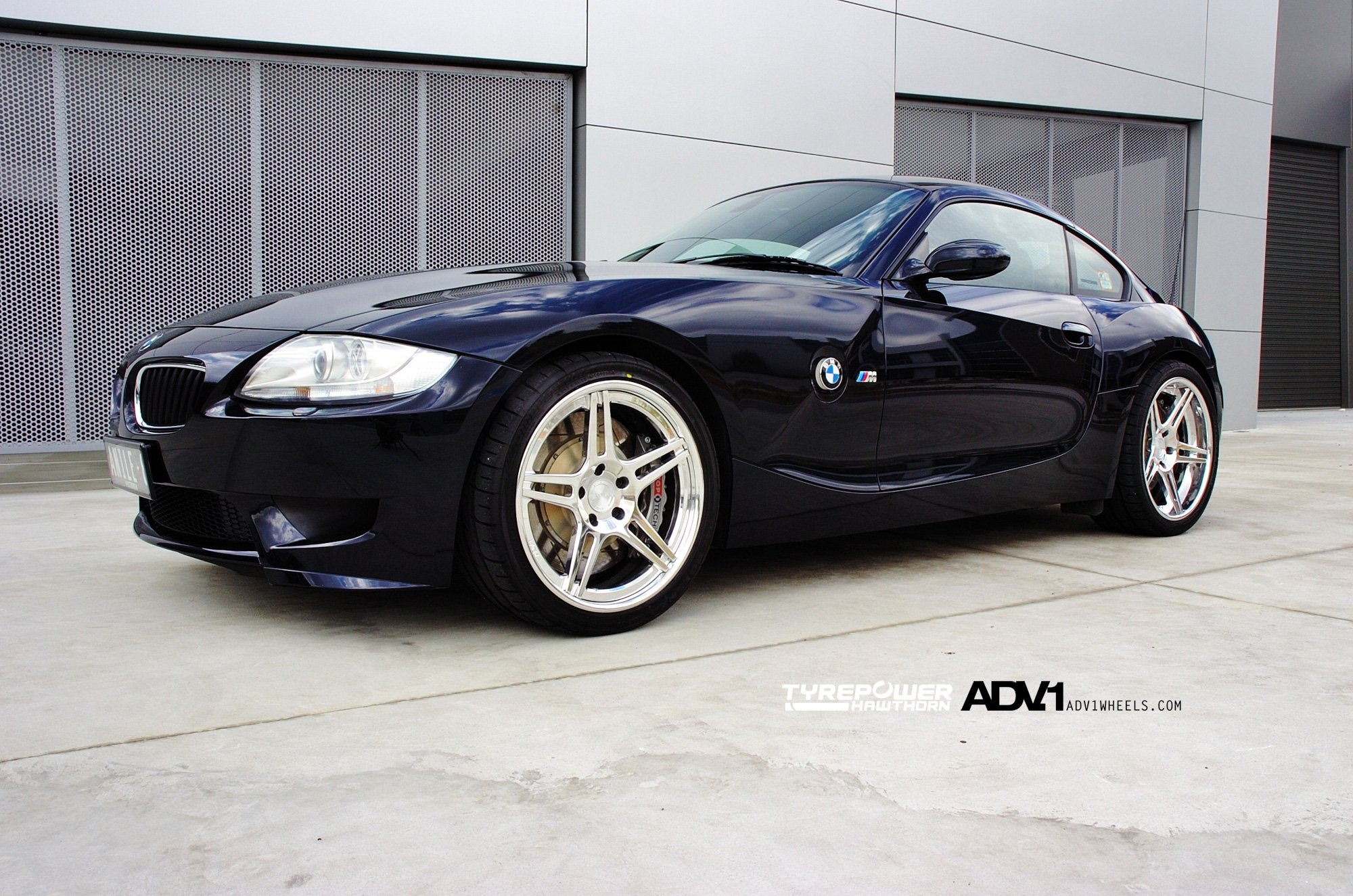 Clean Looks Of The Bmw Z4m Coupe With Polished Custom
