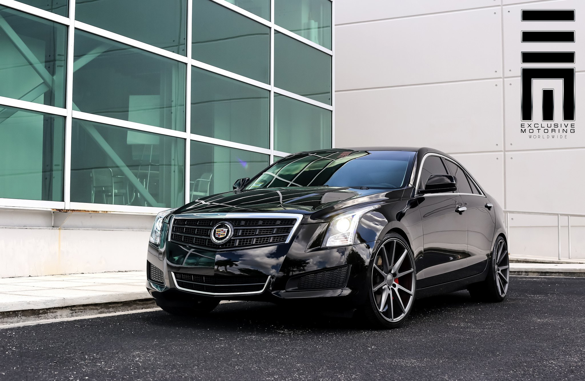 Platinum Black Cadillac Ats By Exclusive Motoring Carid Com Gallery