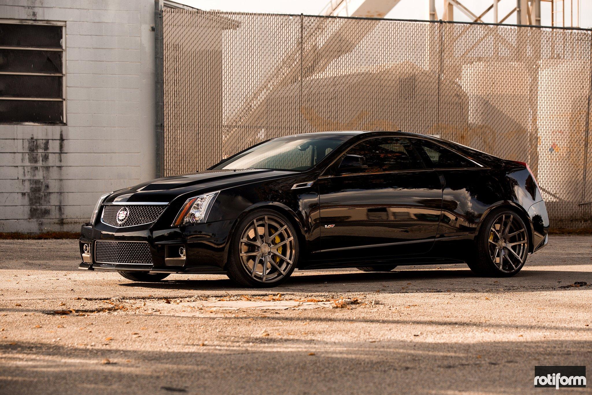 Cadillac Cts V Coupe Rocking Rotiform Sna 3pc Wheels