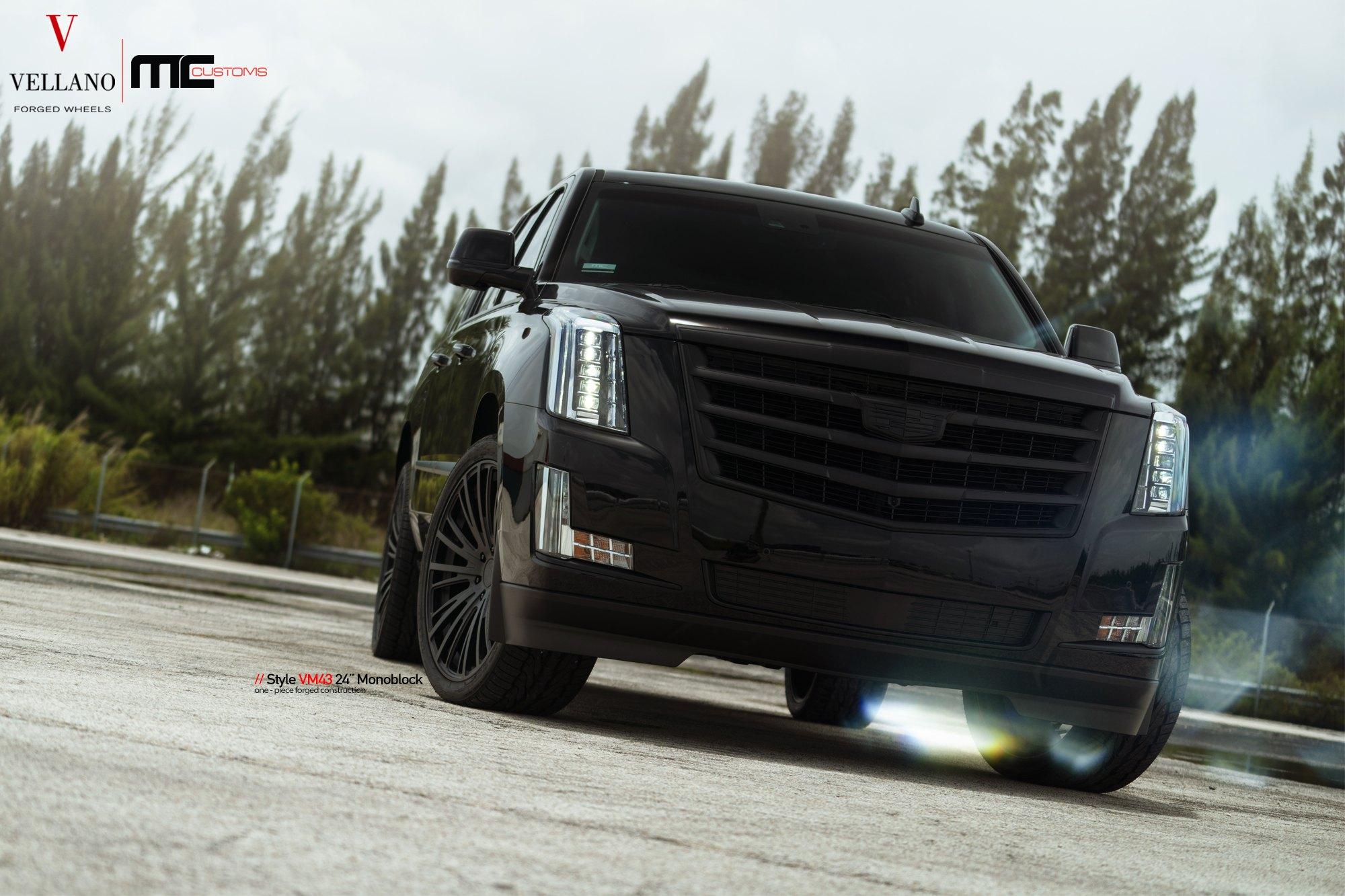 Custom Blacked Out Cadillac Escalade