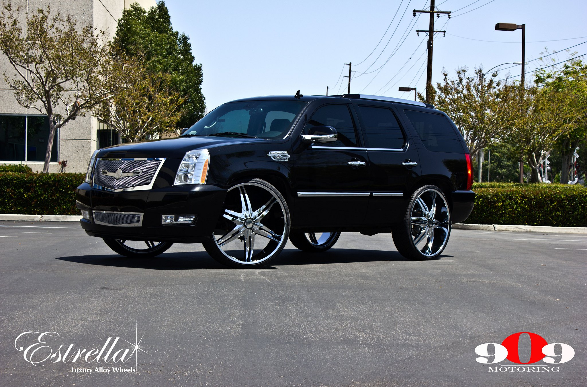 Custom 2008 Cadillac Escalade Images Mods Photos