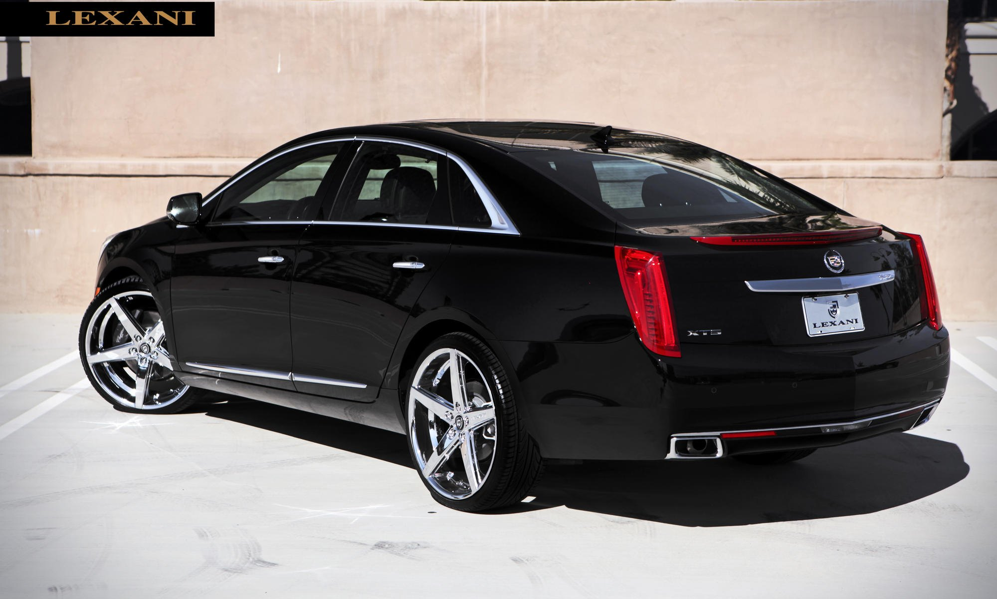 lexani cadillac xts refined style gallery. Black Bedroom Furniture Sets. Home Design Ideas