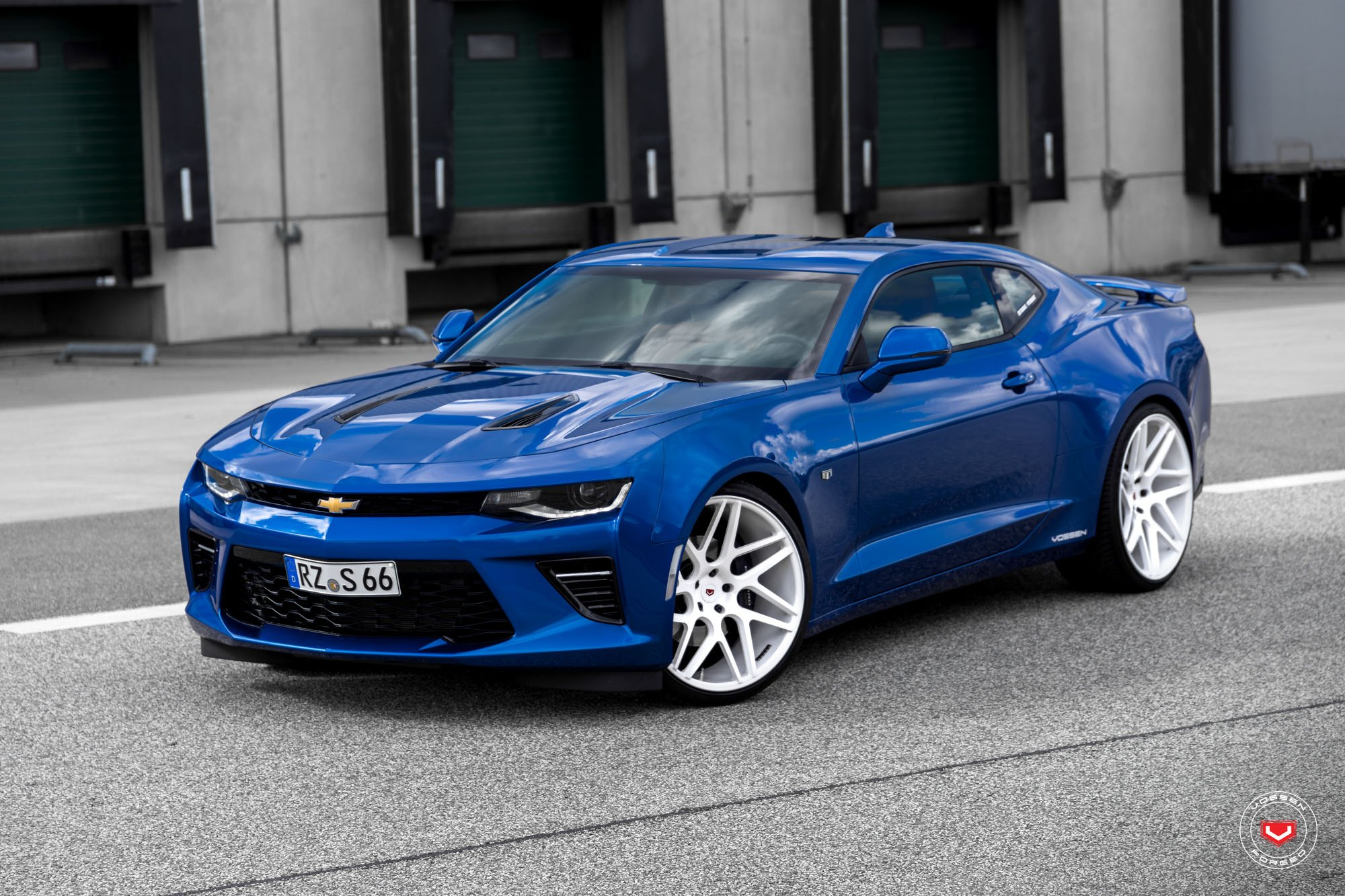 Customized Blue Chevy Camaro for a Modern Muscle Car Look — CARiD ...