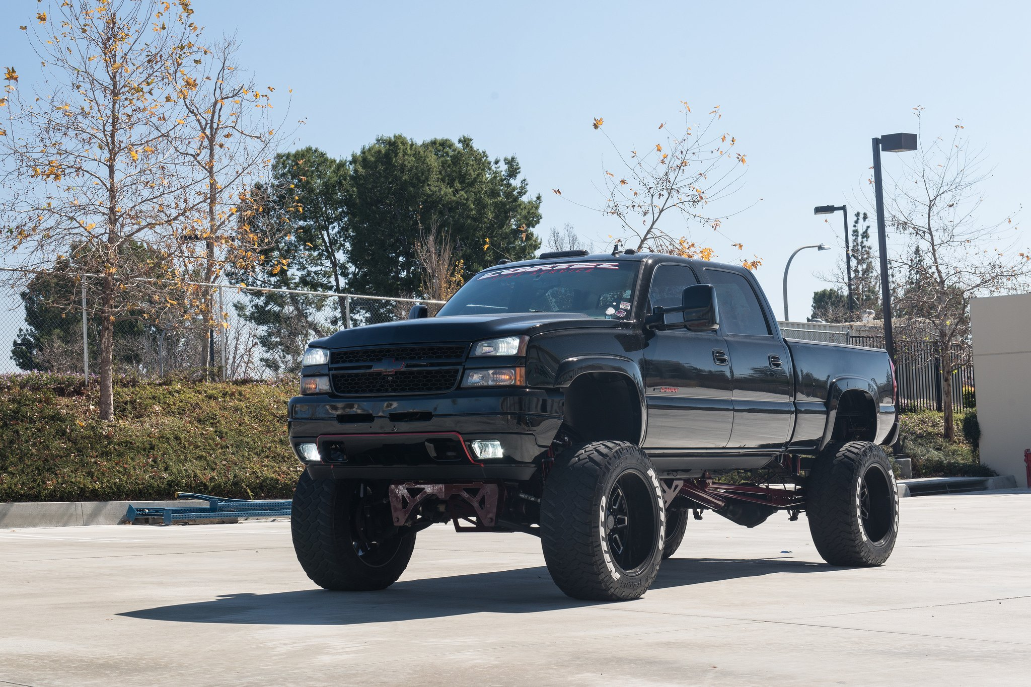 Lifted Chevy Trucks >> King Lift On Custom Black Chevy Silverado Carid Com Gallery