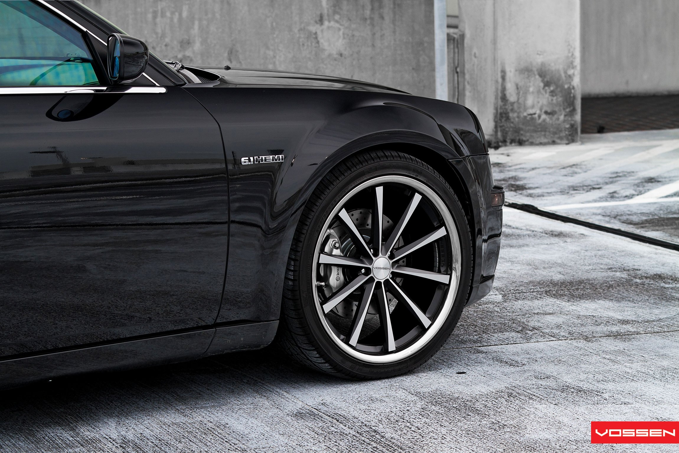 Vossen Rims with Brembo Brakes on Chrysler 300 - Photo by Vossen
