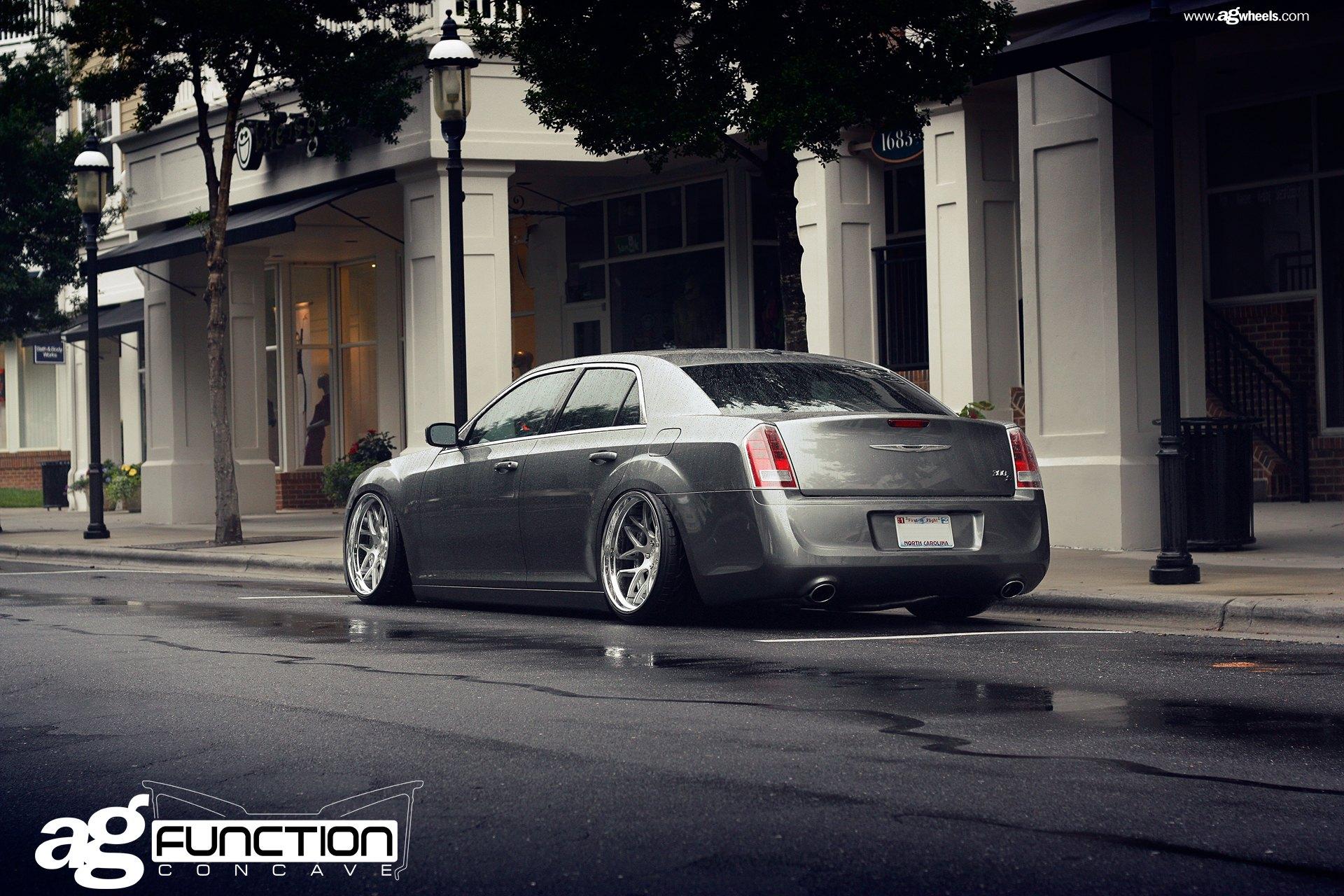 Stanced Chrysler 300 Gray Stanced Chrysler ...