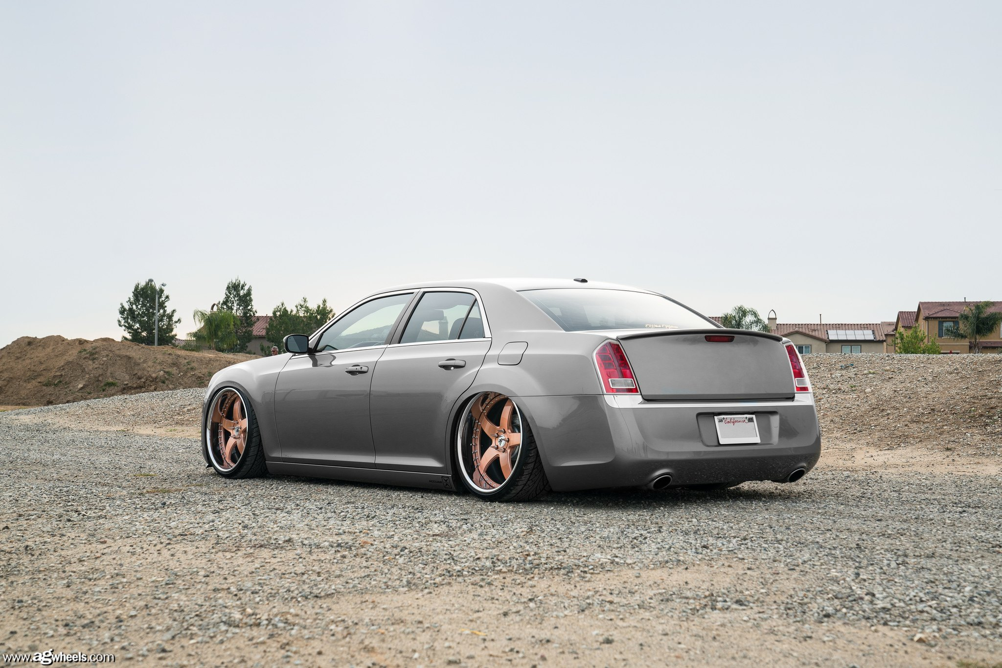 Stanced Chrysler 300 Stanced Out Gray Lower...