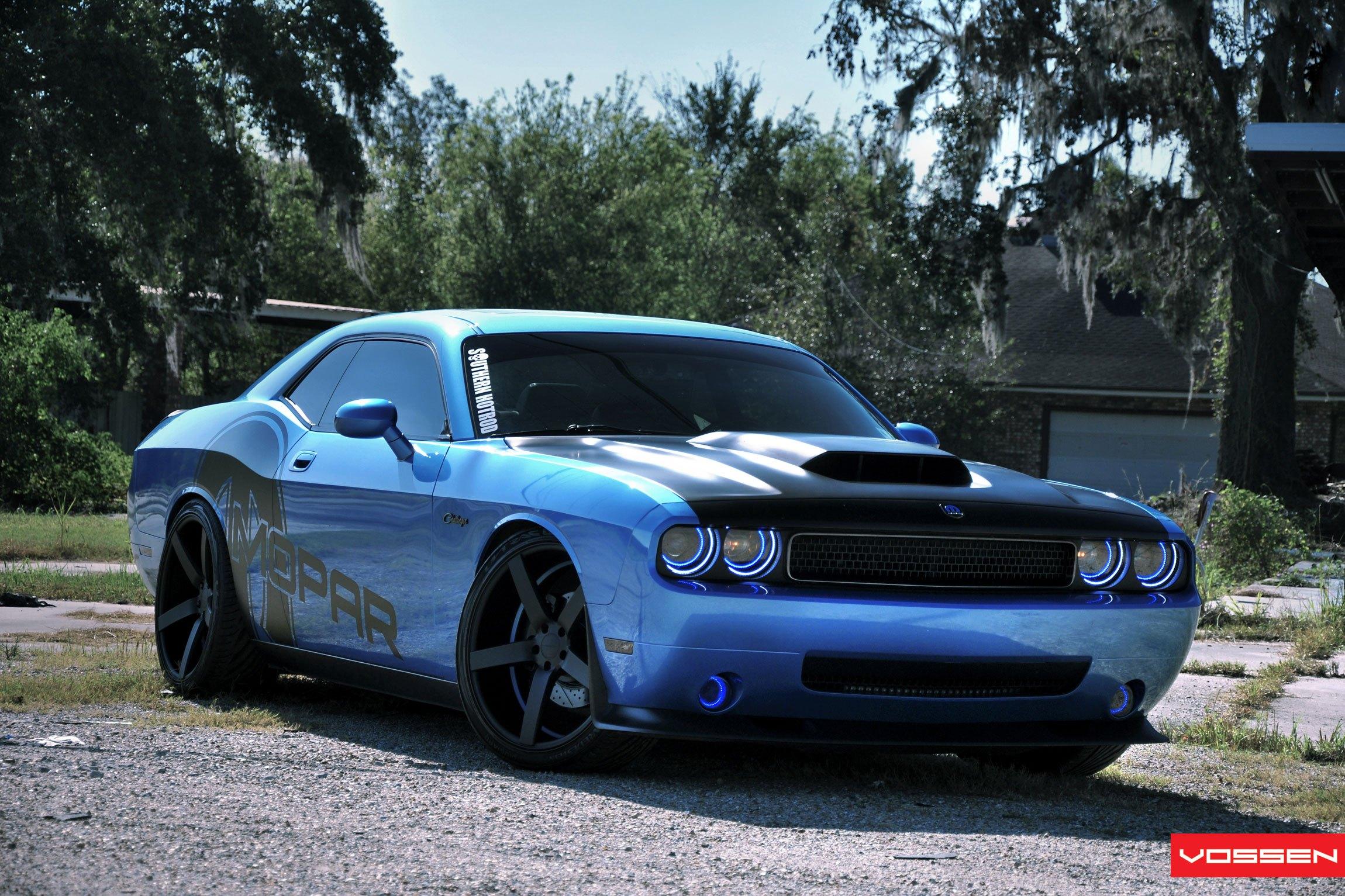 Mopar or no Car: Customized Blue Dodge Challenger — CARiD com Gallery