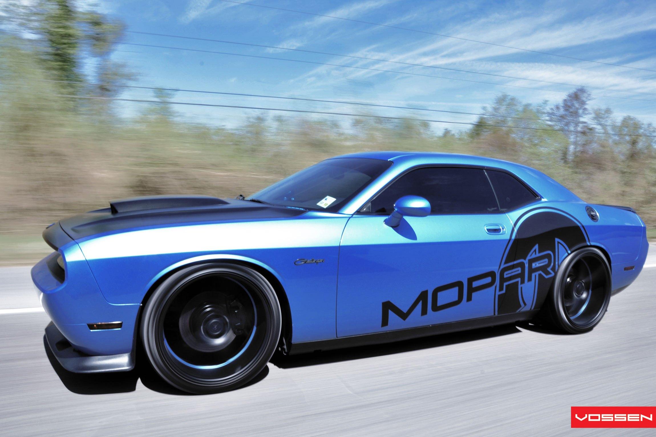 Mopar Or No Car Customized Blue Dodge Challenger Carid Com Gallery