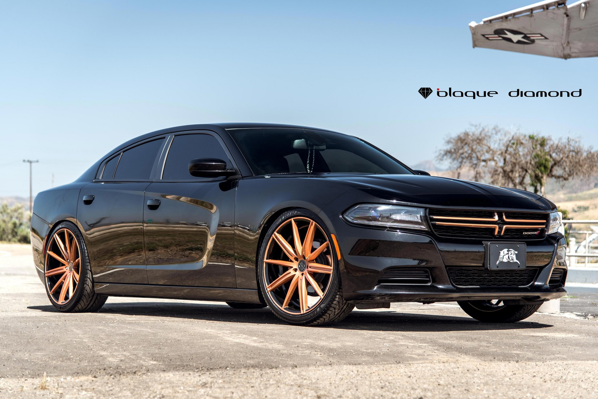 Street Fighter Dodge Charger on BD 11 Rims - Photo by Black Diamond