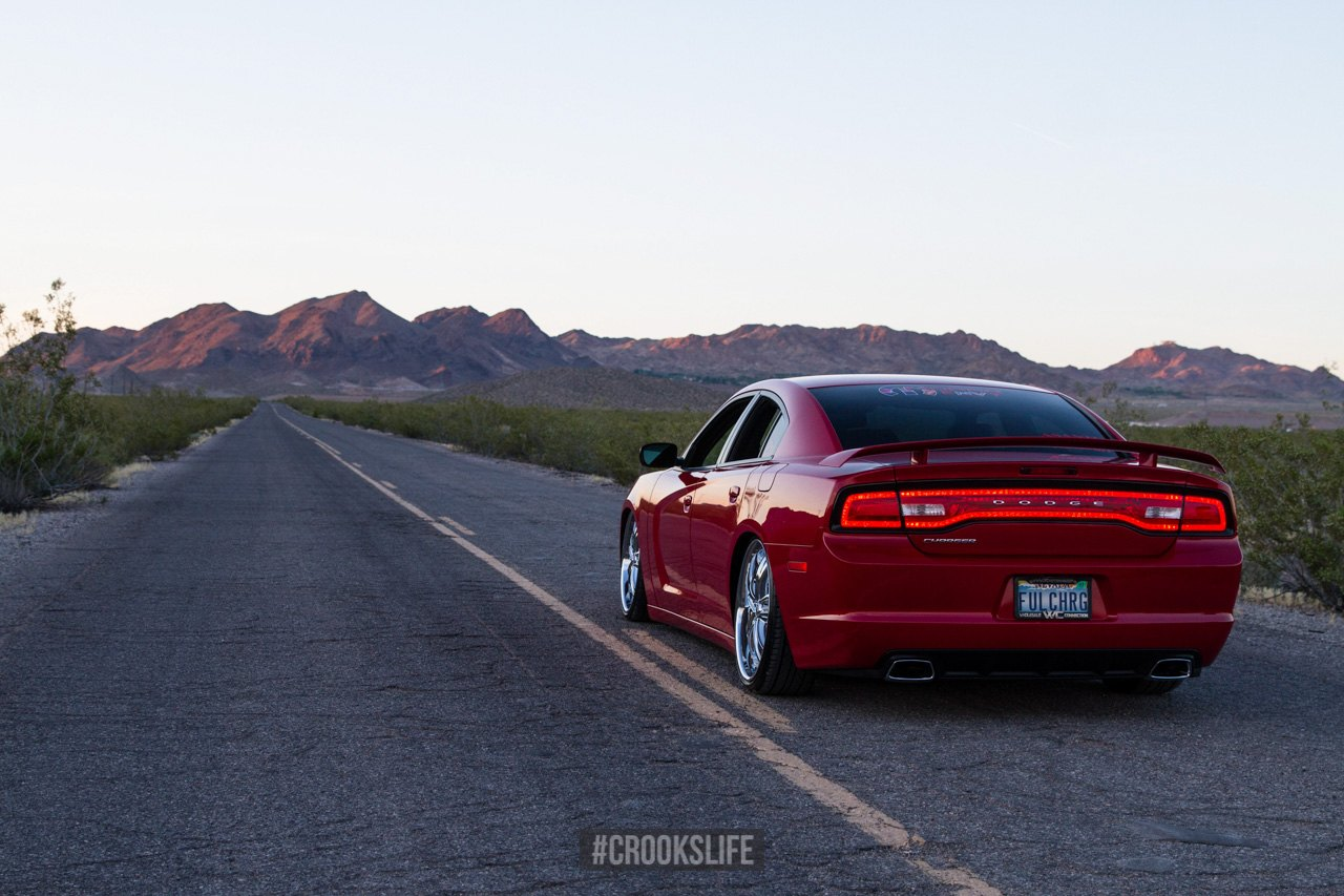 Dodge dodge charger with wing : Customized Dodge Charger on Chrome Wheels — CARiD.com Gallery