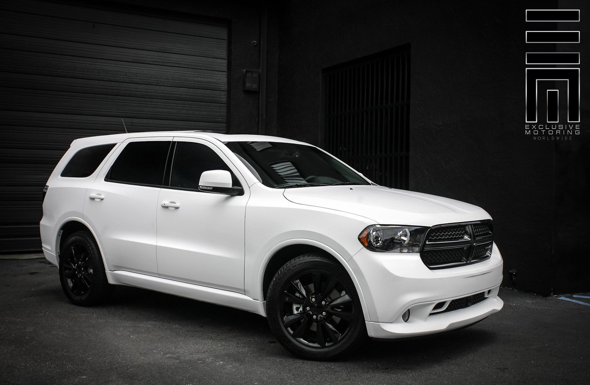 Snow White Dodge Durango RT by Exclusive Motoring  CARiDcom Gallery
