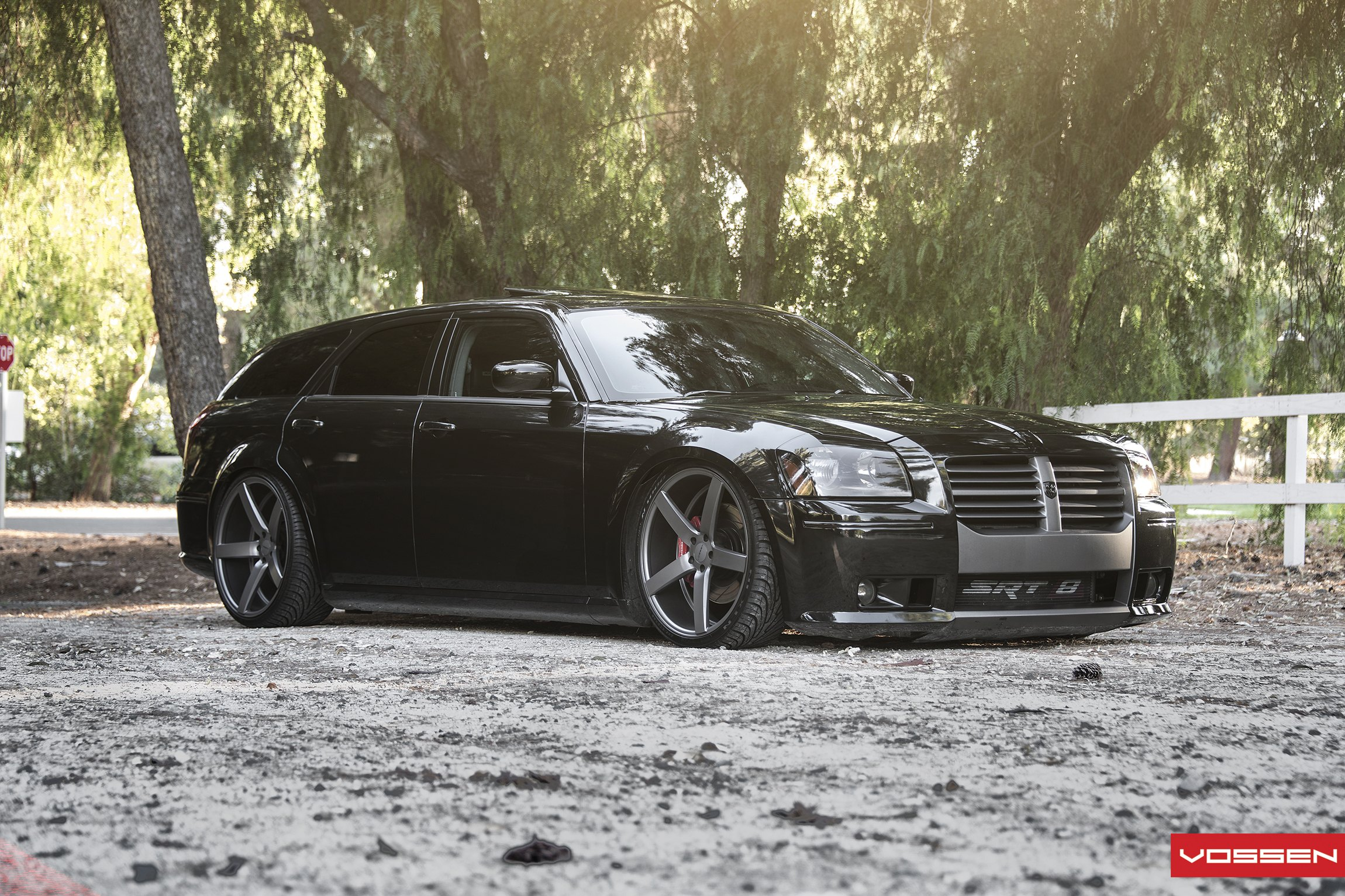 Black Dodge Magnum Srt8 Taken To Another Level With Custom