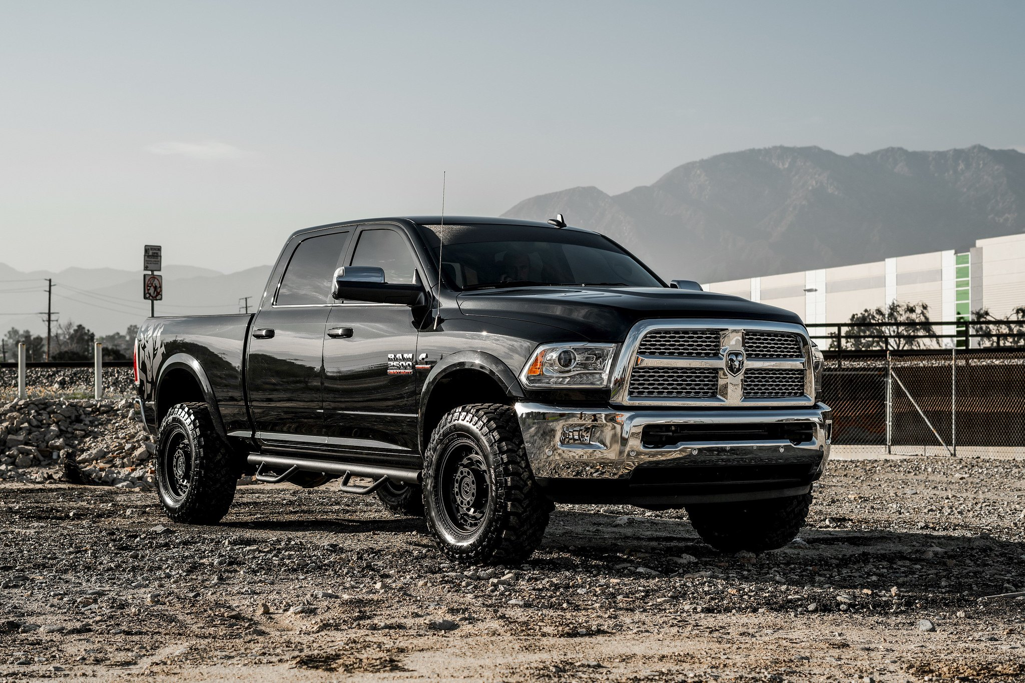 Black Ram 2500 >> Black American Pride Ram Shod In Black Off Road Rhino Wheels