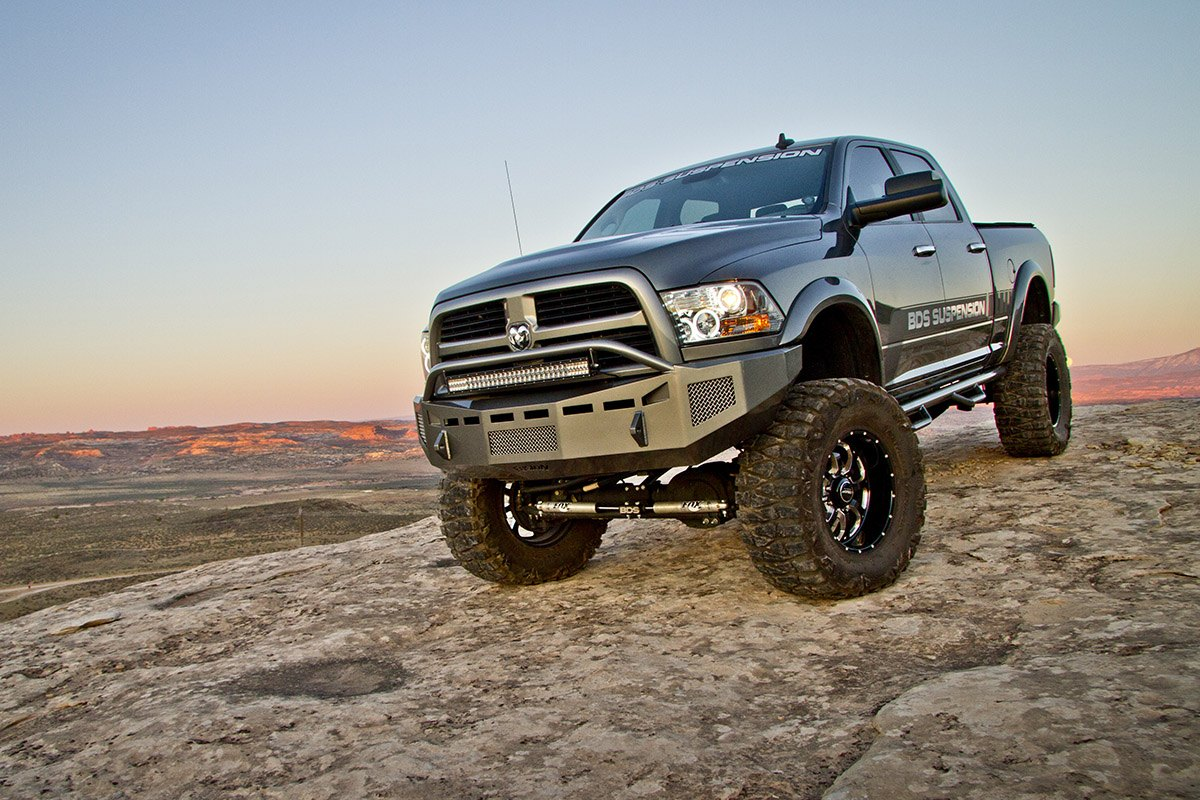 8 Lift Kit By Bds Suspensions On Dodge Ram Truck Gallery 2012 6 Inch With Off Road Tires Photo