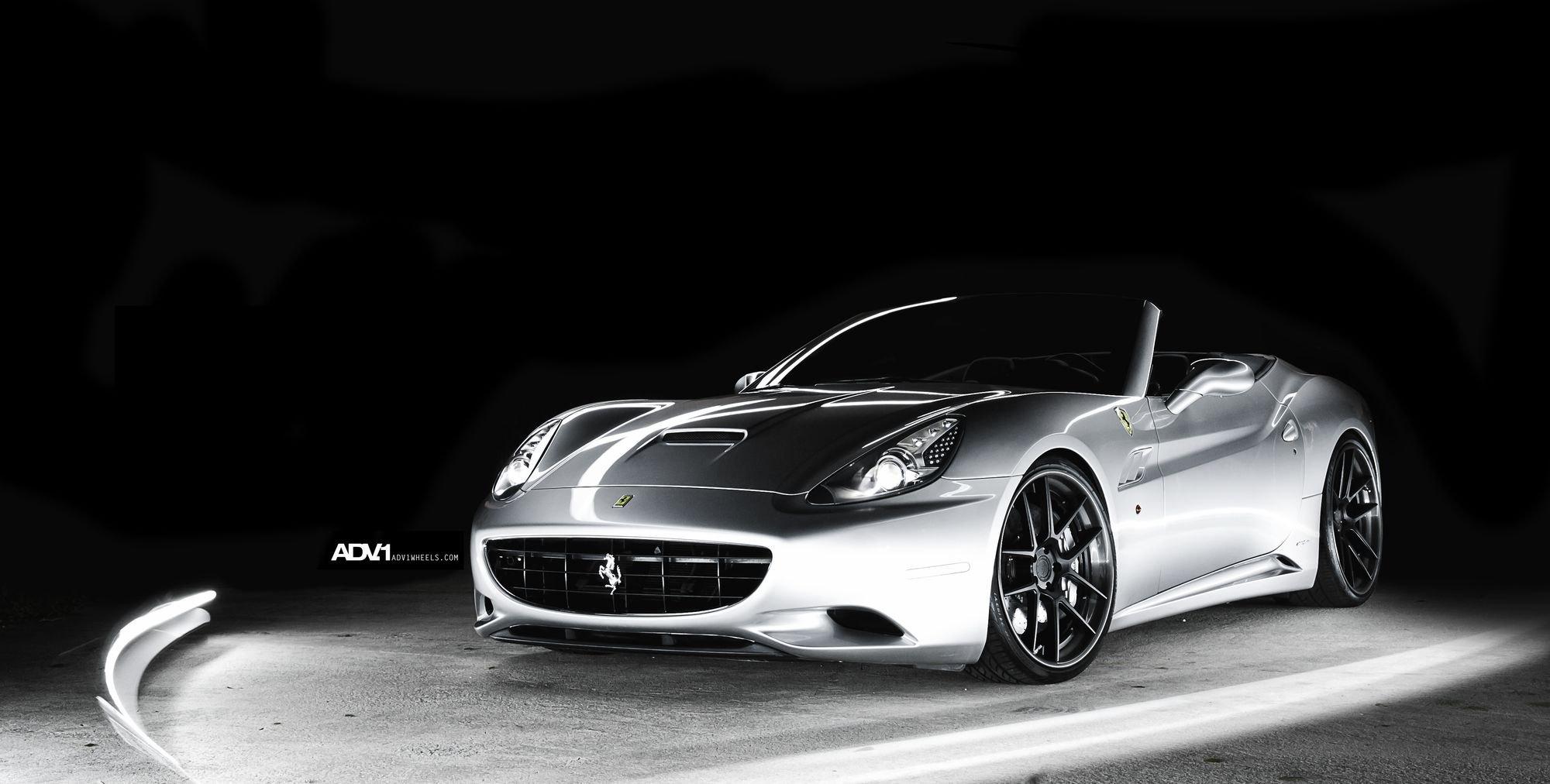 Eye-catching Ferrari California Fitted with Custom Wheels ...