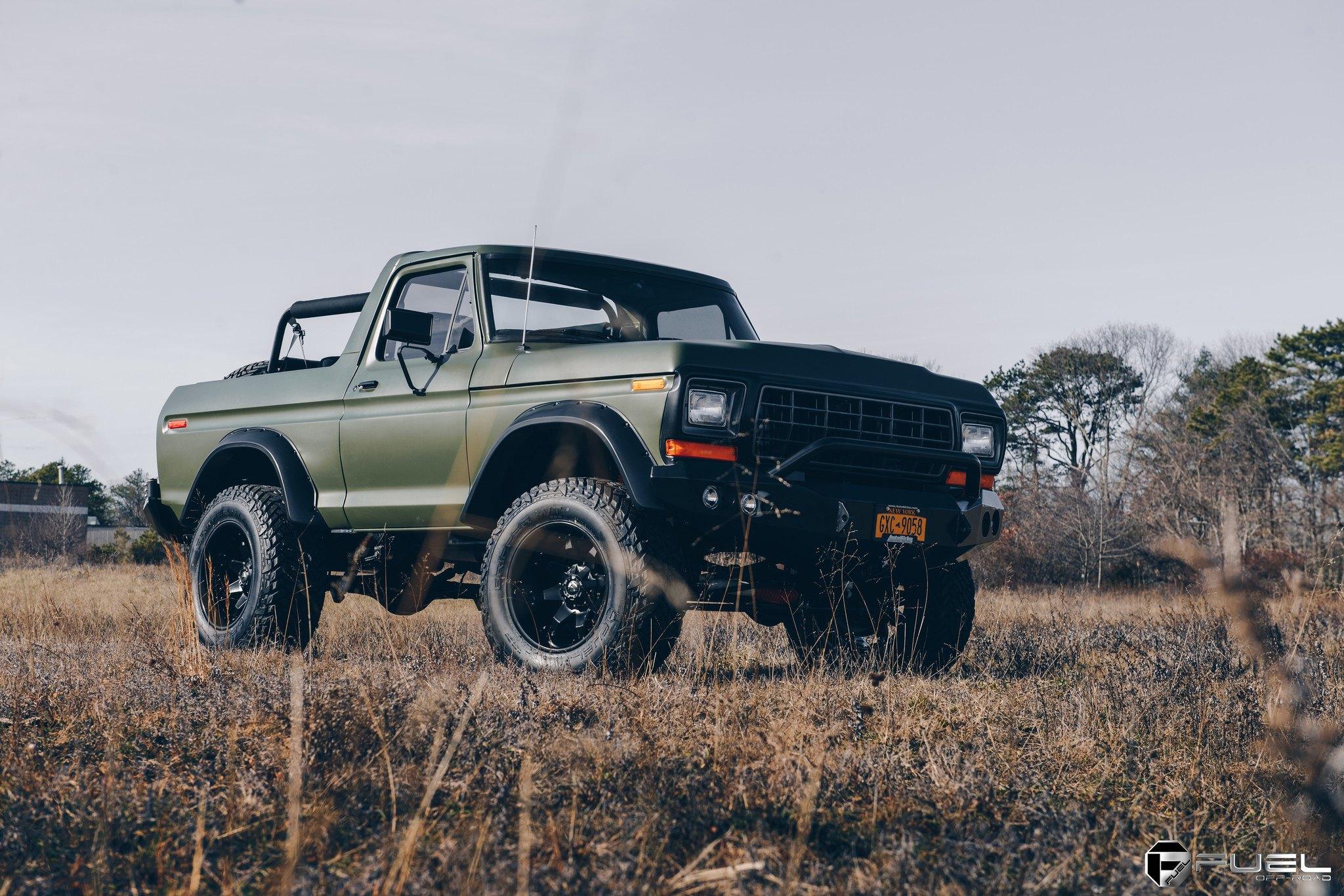 Custom 1978 Ford Bronco | Images, Mods, Photos, Upgrades ...