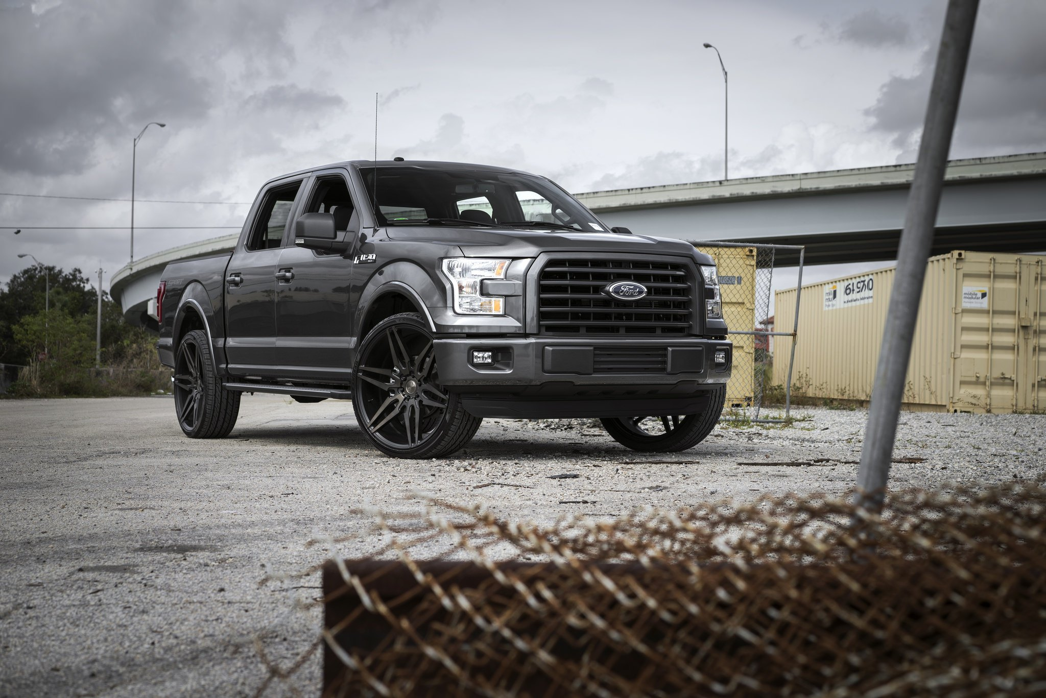 Black Ford Fusion Black Rims >> Custom 2017 Ford F-150 | Images, Mods, Photos, Upgrades — CARiD.com Gallery