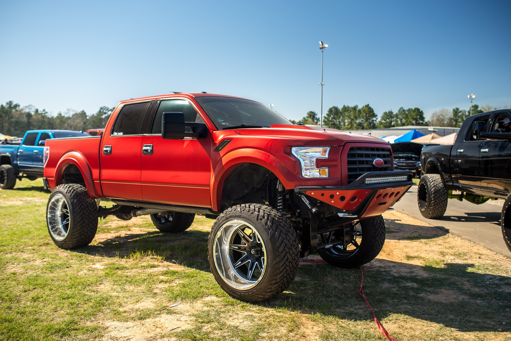Custom F 150 >> Fully Customized Ford F150 With A Front End Swap Carid Com Gallery