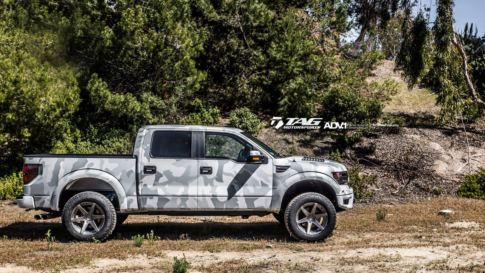 OE Style Fender Flares On Lifted Camo Ford F 150