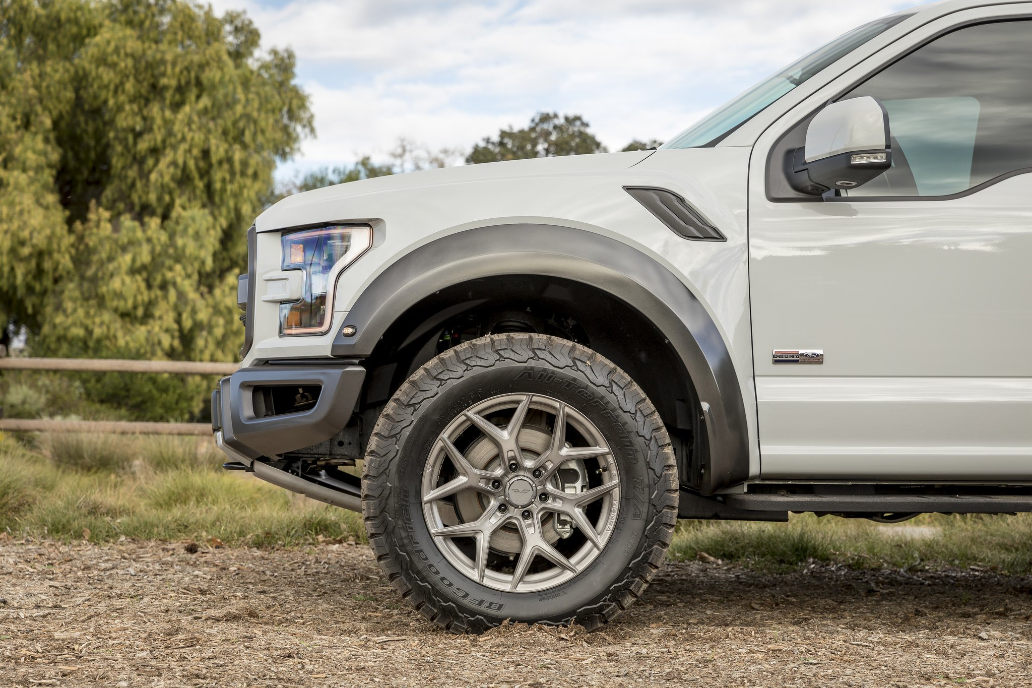 Gray Lifted Ford F-150 on BFGoodrich Tires - Photo by Vorsteiner